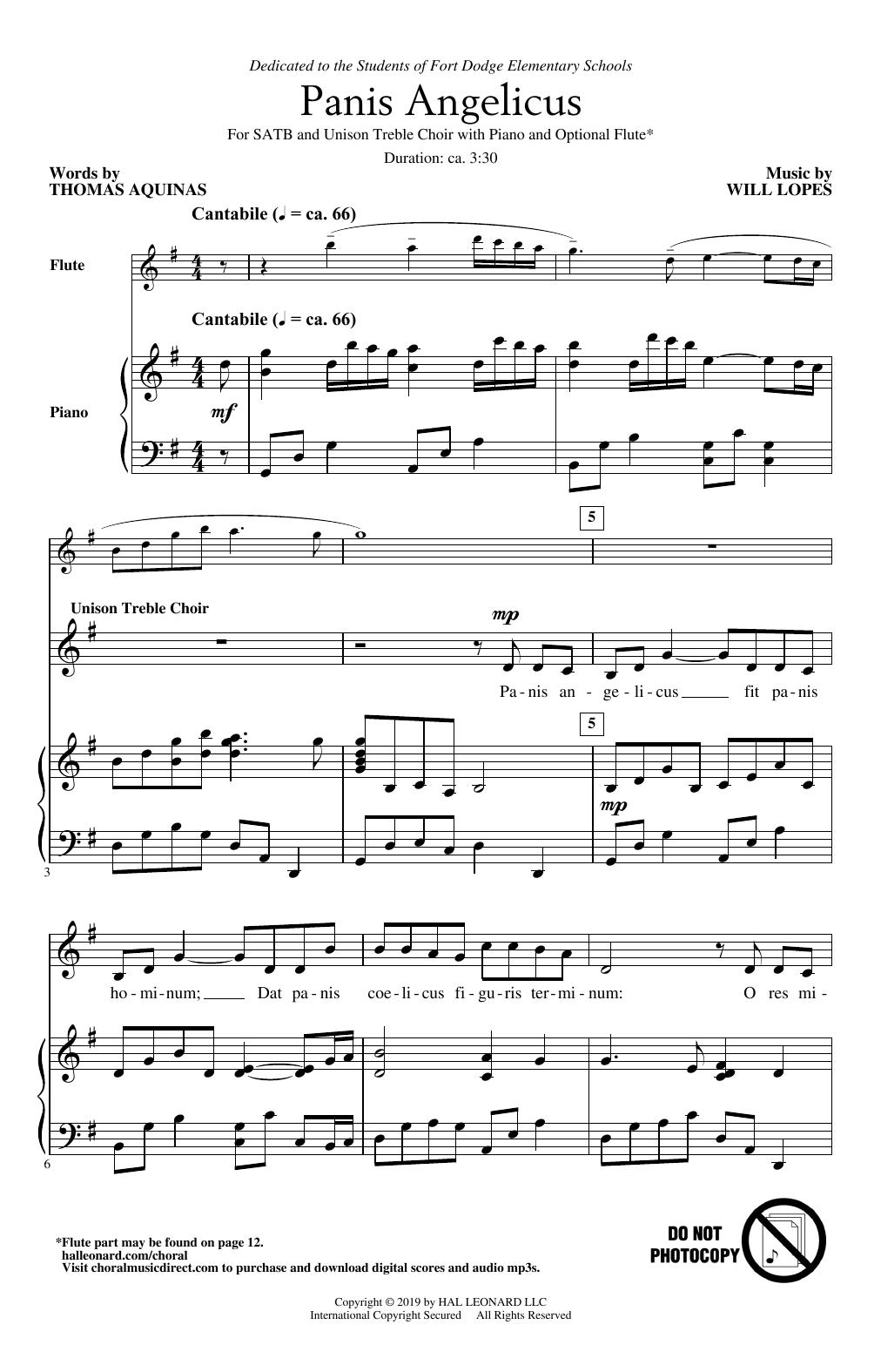 Panis Angelicus (SATB Choir)