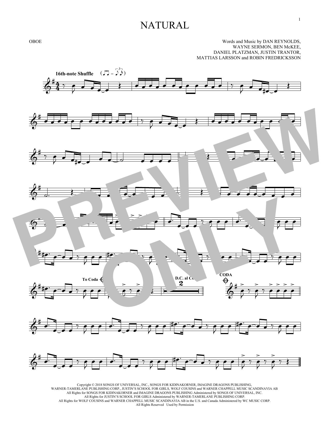 Natural (Oboe Solo)