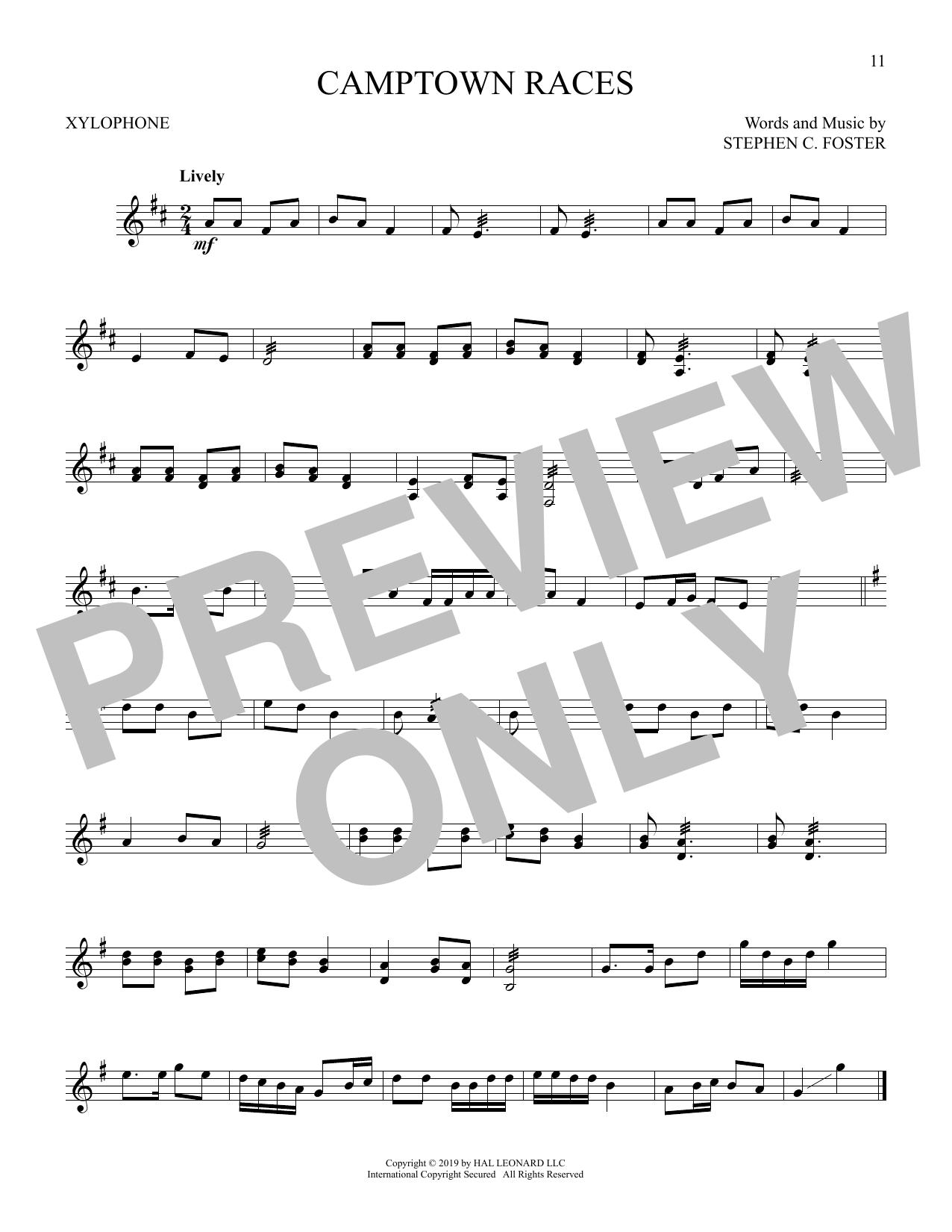 Camptown Races (Xylophone Solo)