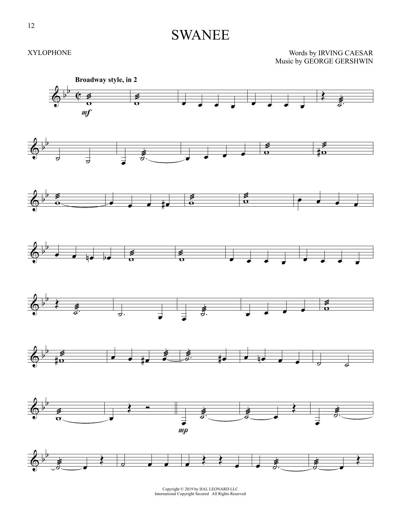 Swanee (Xylophone Solo)