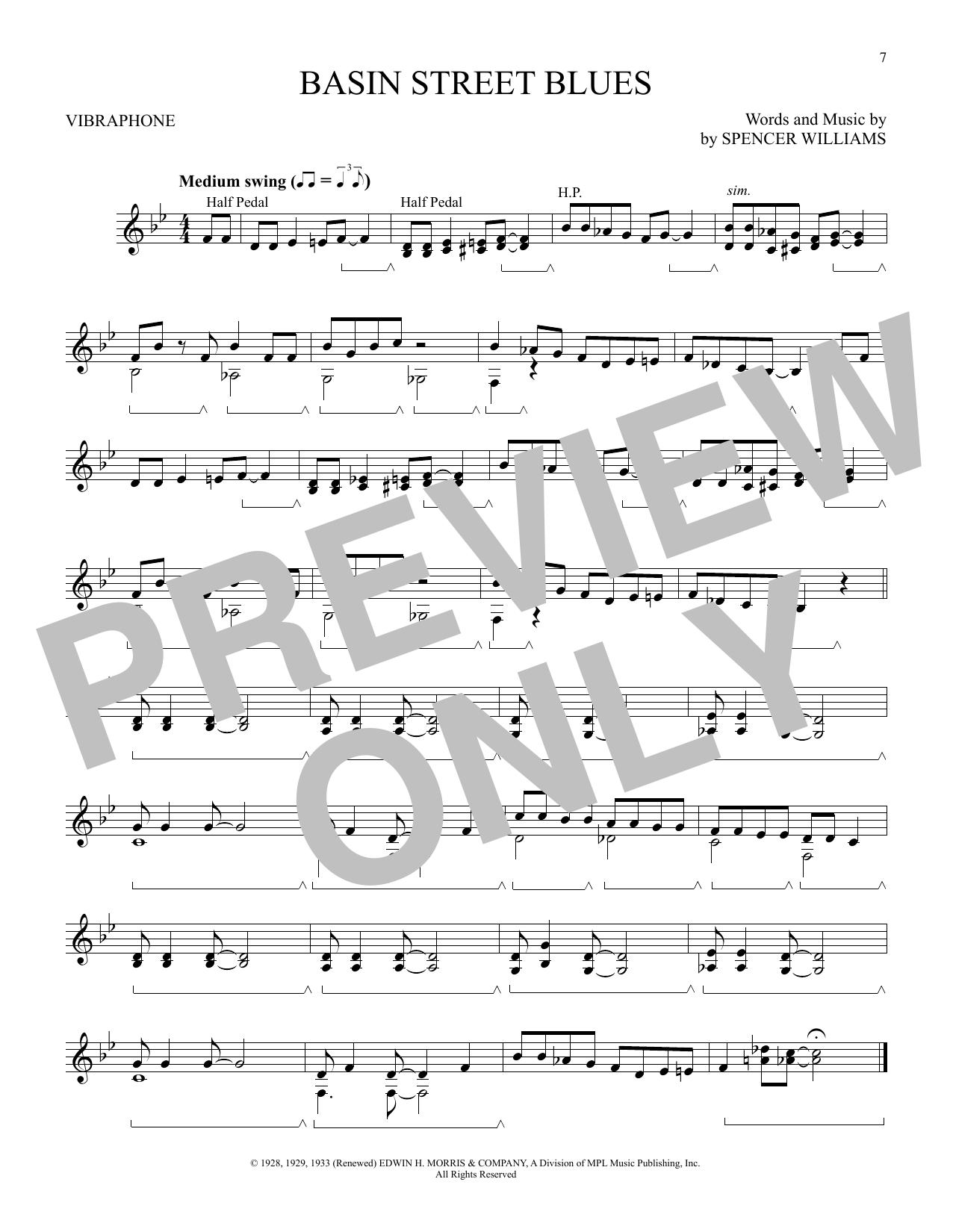 Basin Street Blues (Vibraphone Solo)