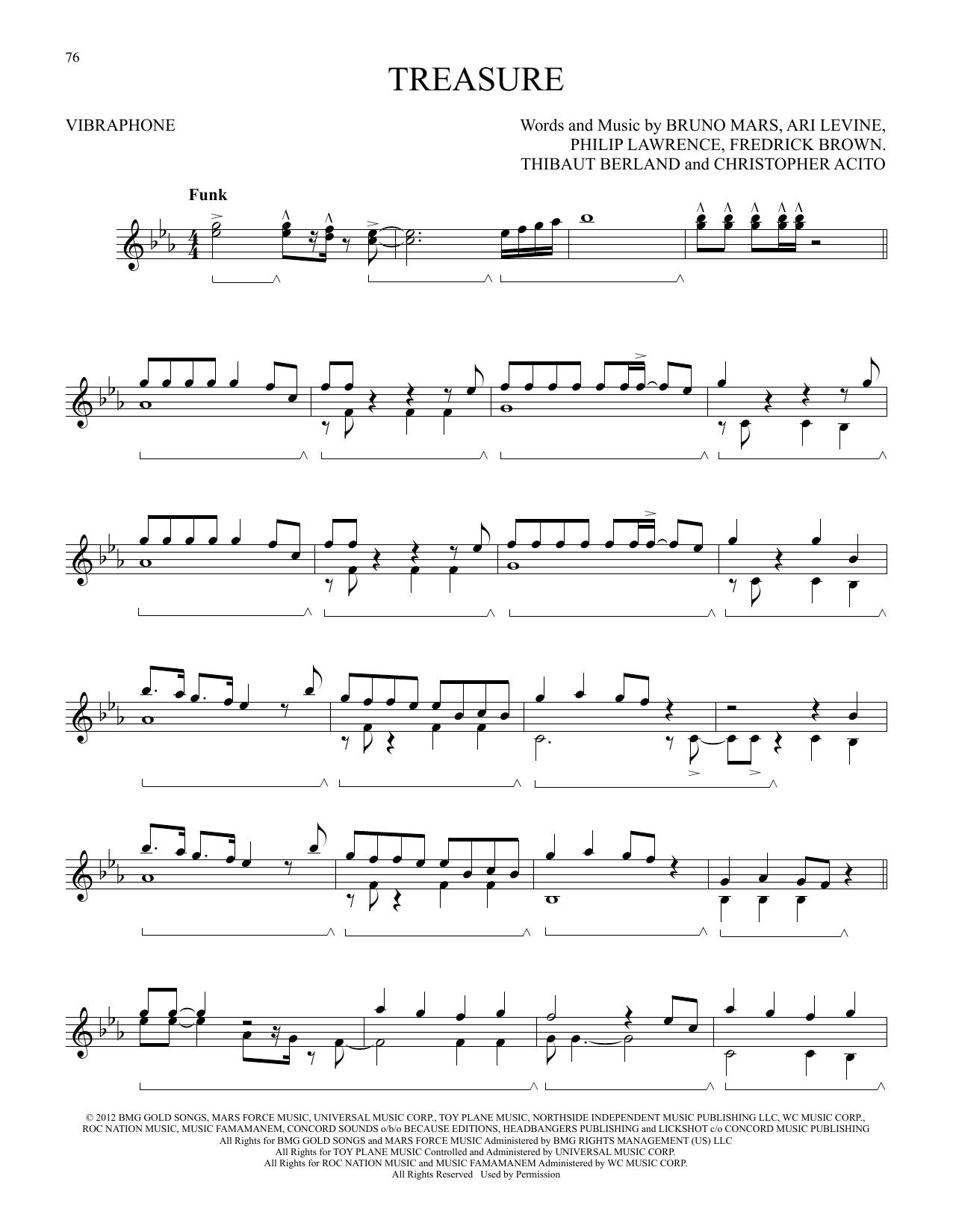 Treasure (Vibraphone Solo)