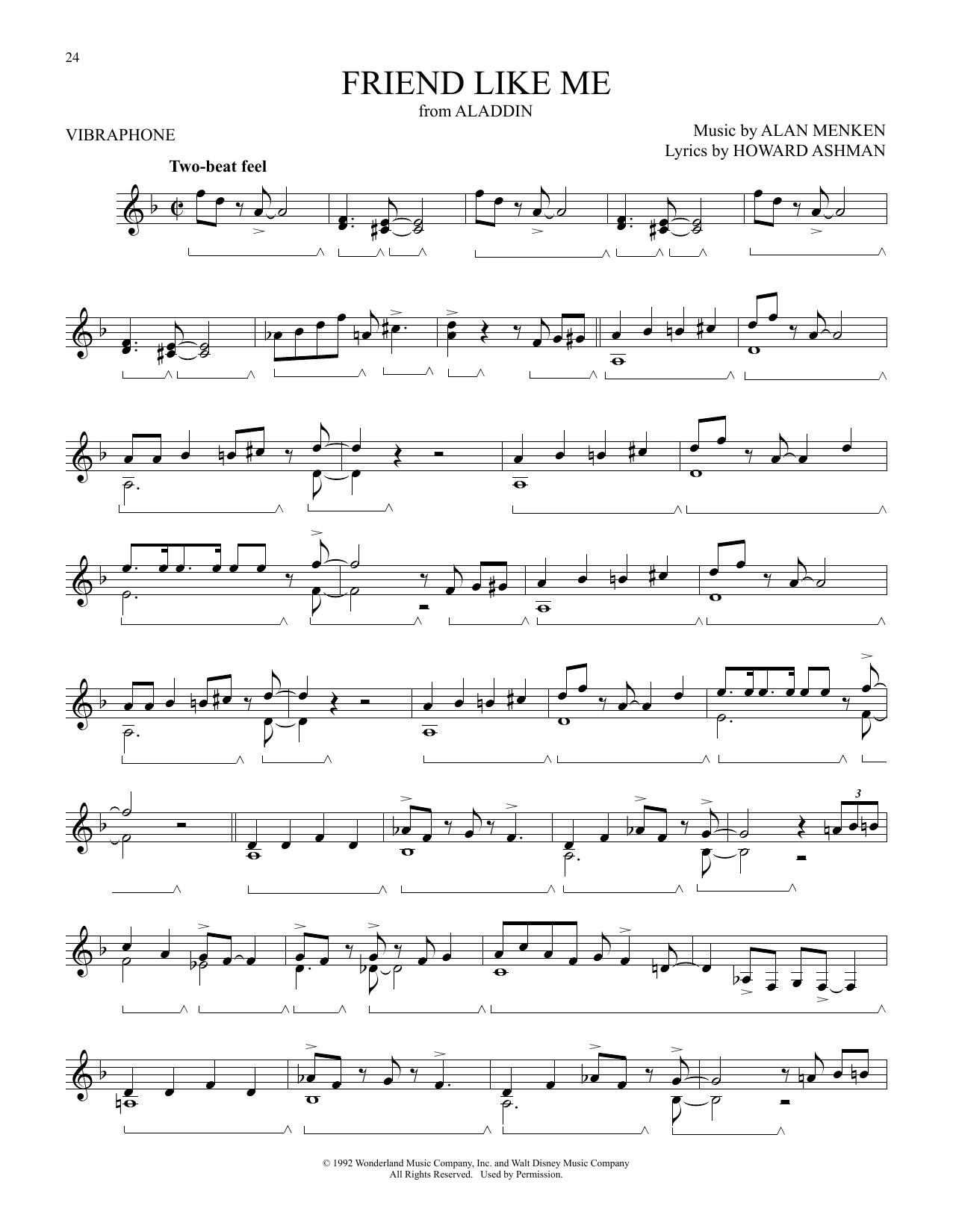 Friend Like Me (from Aladdin) (Vibraphone Solo)