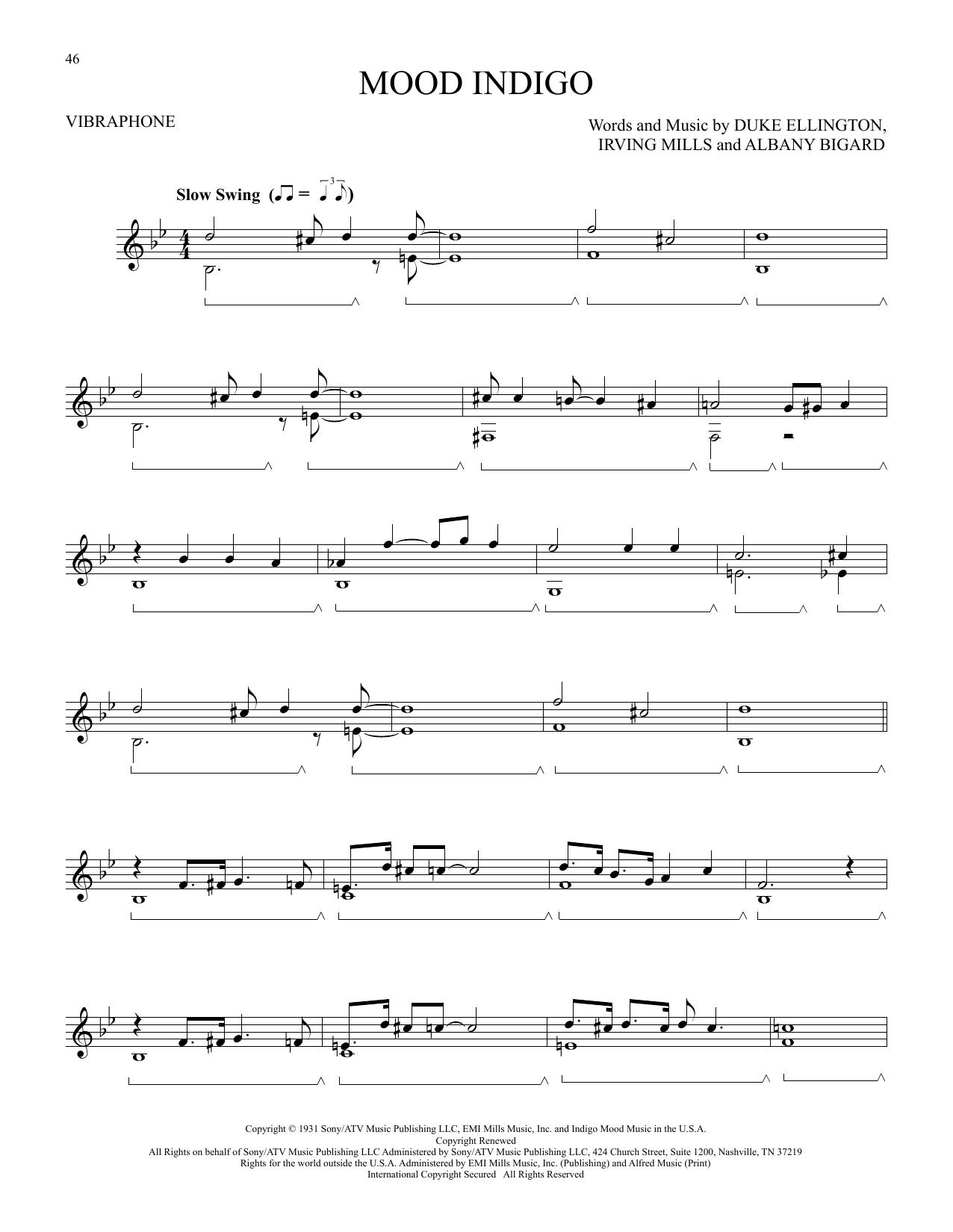 Mood Indigo (Vibraphone Solo)
