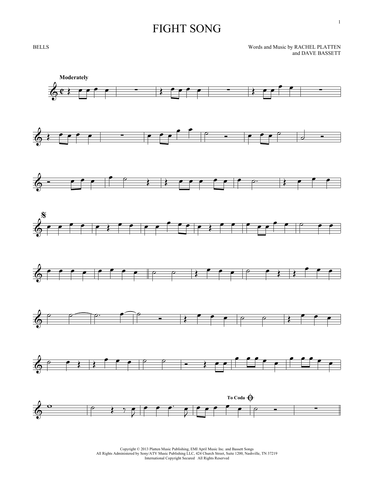 Fight Song (Bells Solo)
