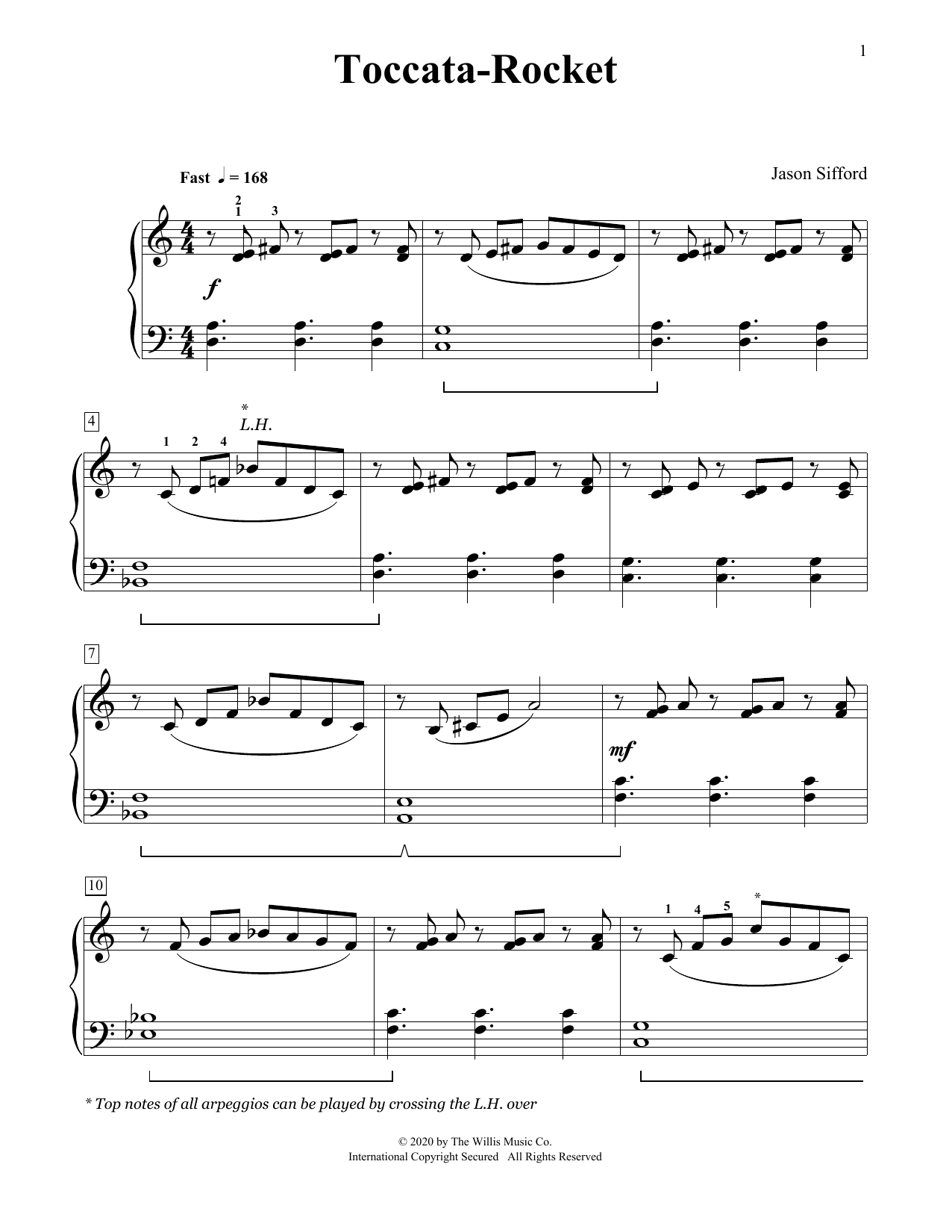 Toccata-Rocket (Educational Piano)