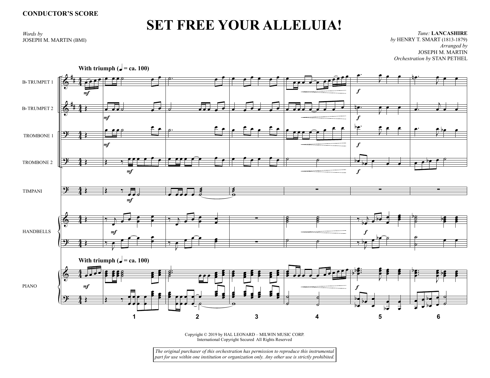 Set Free Your Alleluia! - Full Score (Choir Instrumental Pak)