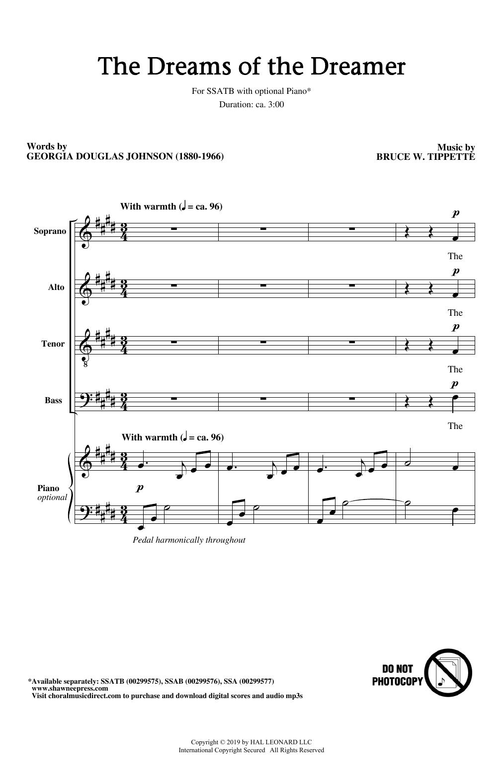 The Dreams Of The Dreamer (SSATB Choir)