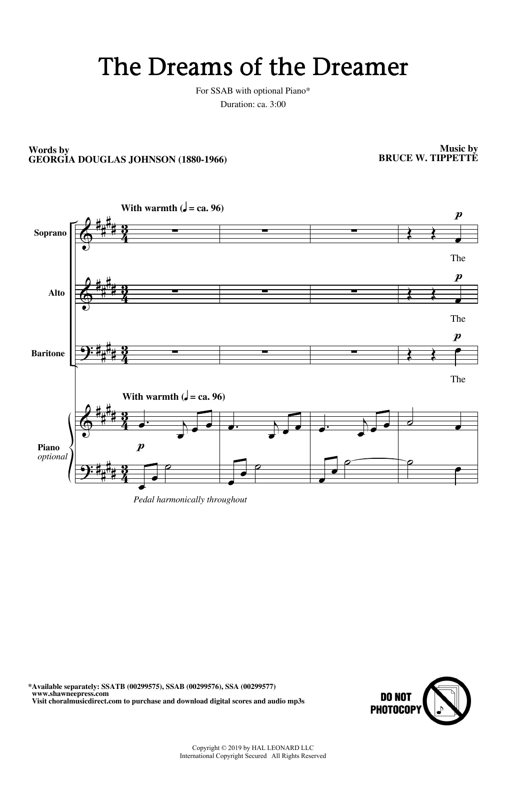 The Dreams Of The Dreamer Sheet Music