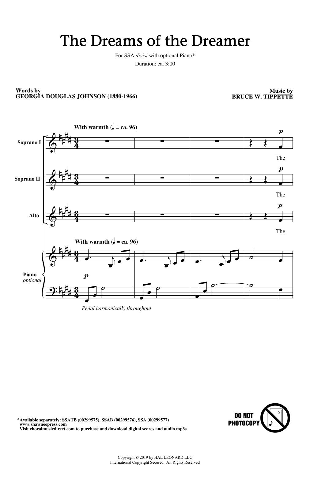 The Dreams Of The Dreamer (SSA Choir)