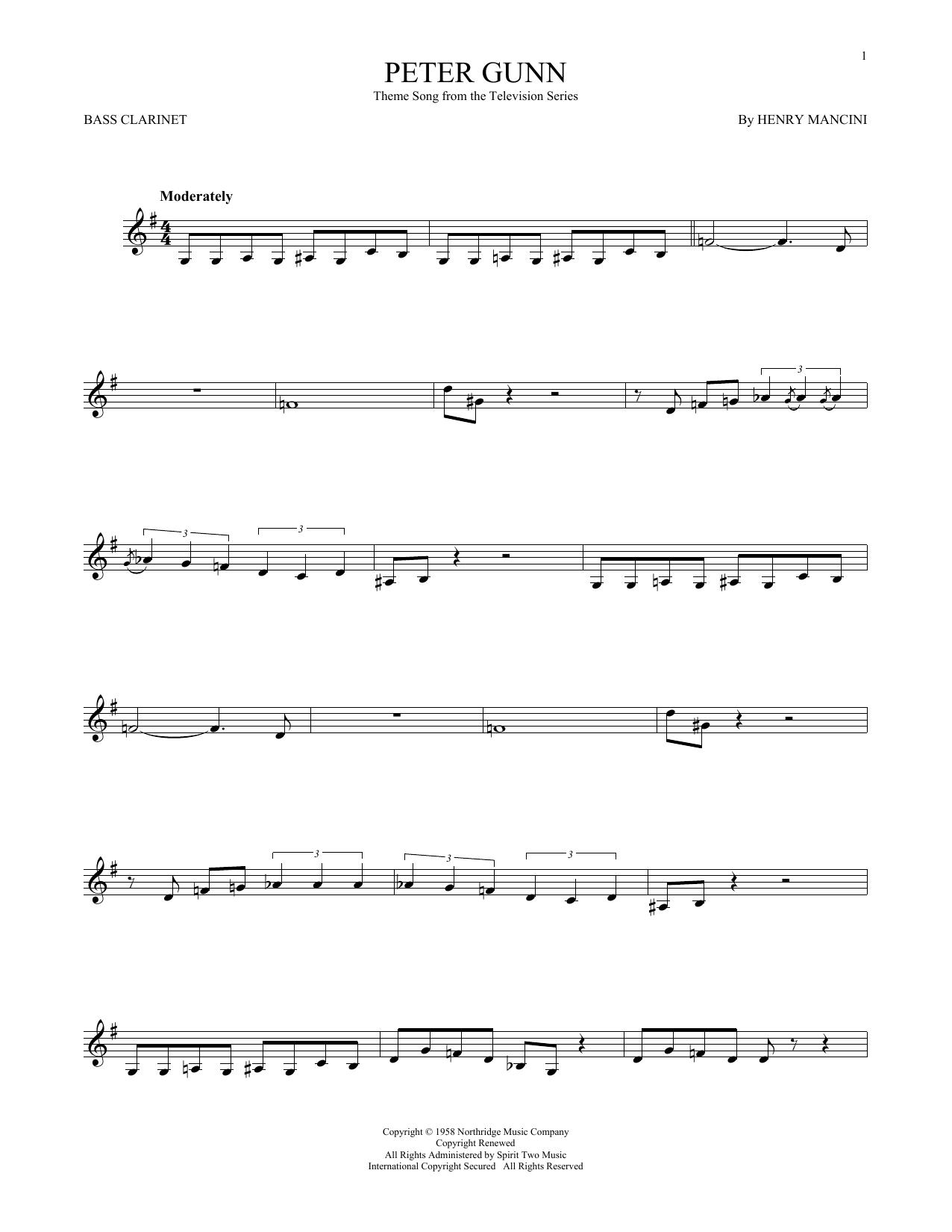 Peter Gunn (Bass Clarinet Solo)