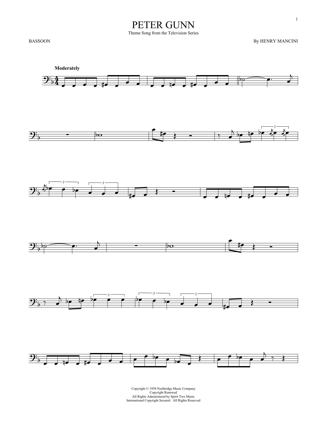 Peter Gunn (Bassoon Solo)