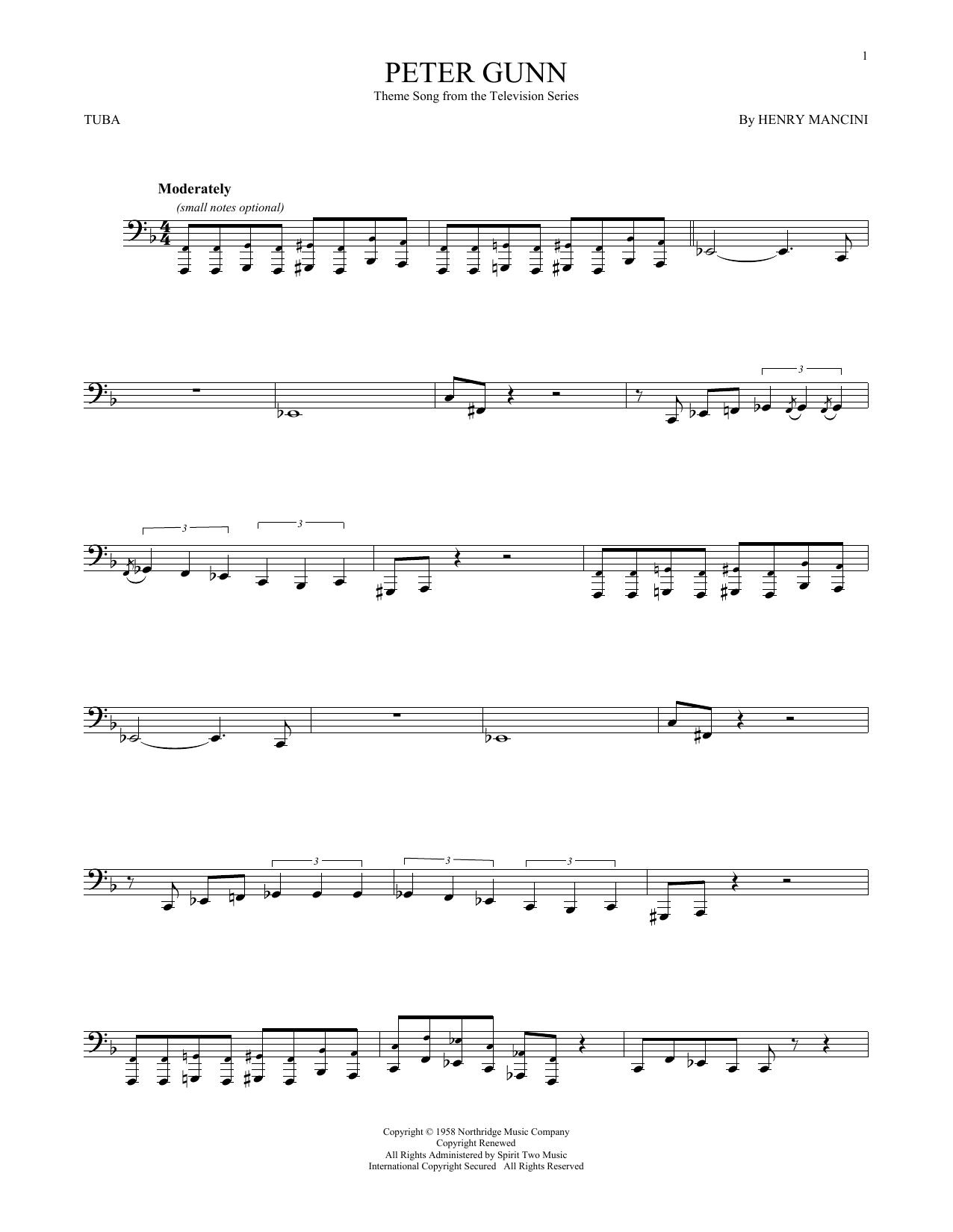 Peter Gunn (Tuba Solo)