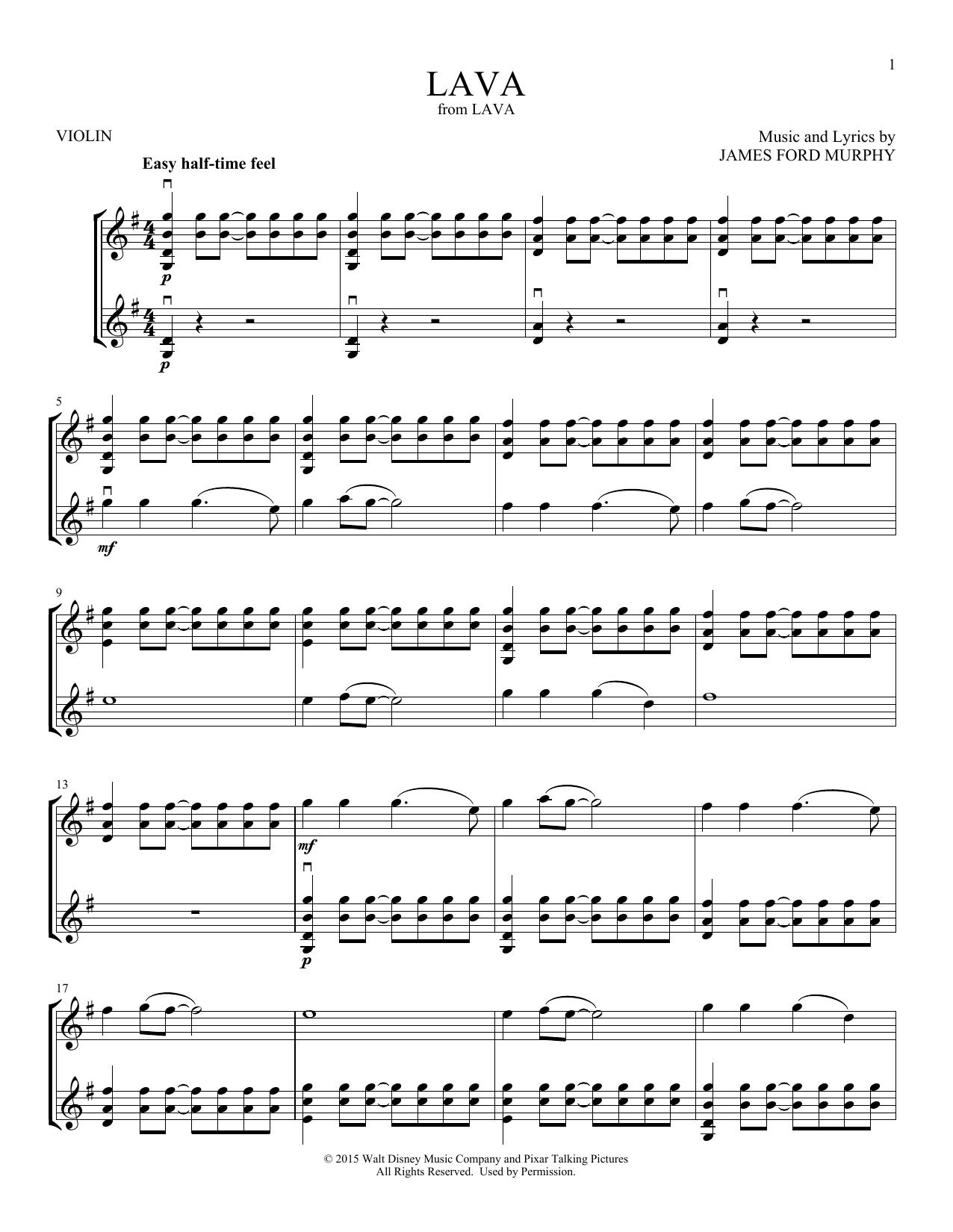 Lava (Violin Duet)