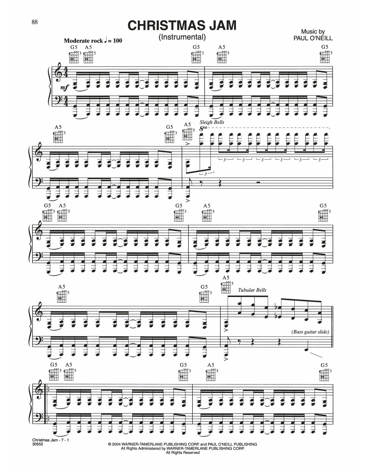 Christmas Jam (Piano Solo)