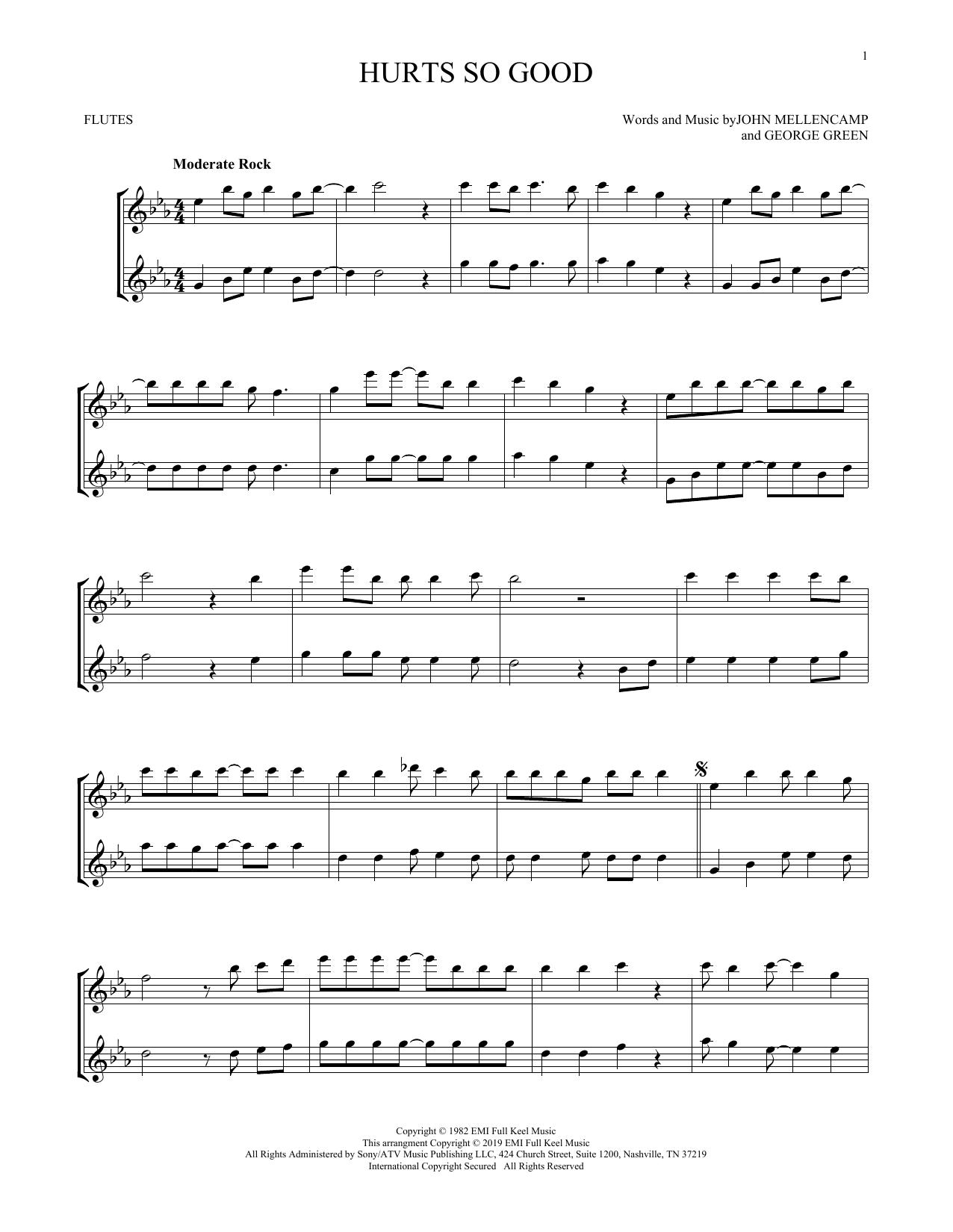 Hurts So Good (Flute Duet)