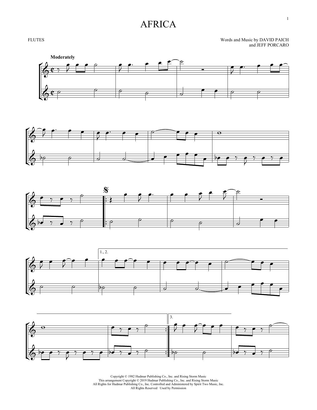 Africa (Flute Duet)