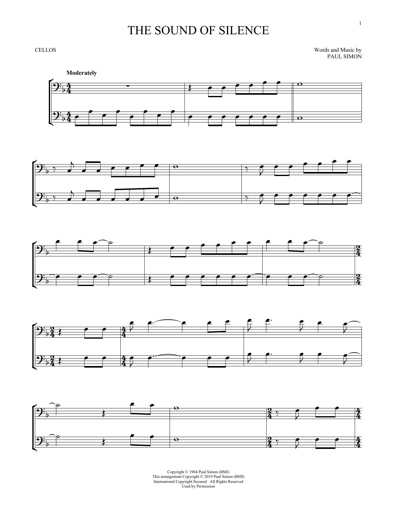 The Sound Of Silence (Cello Duet)