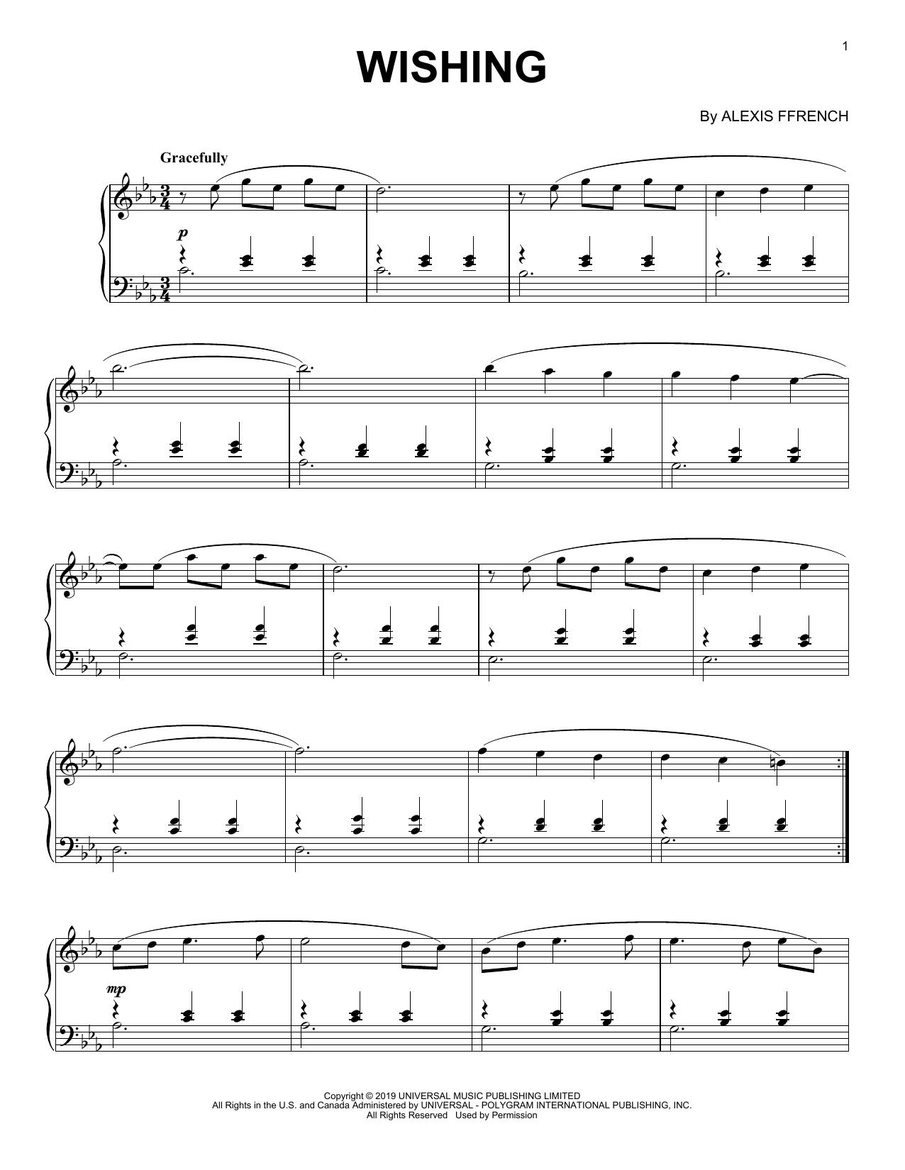 Wishing (Piano Solo)