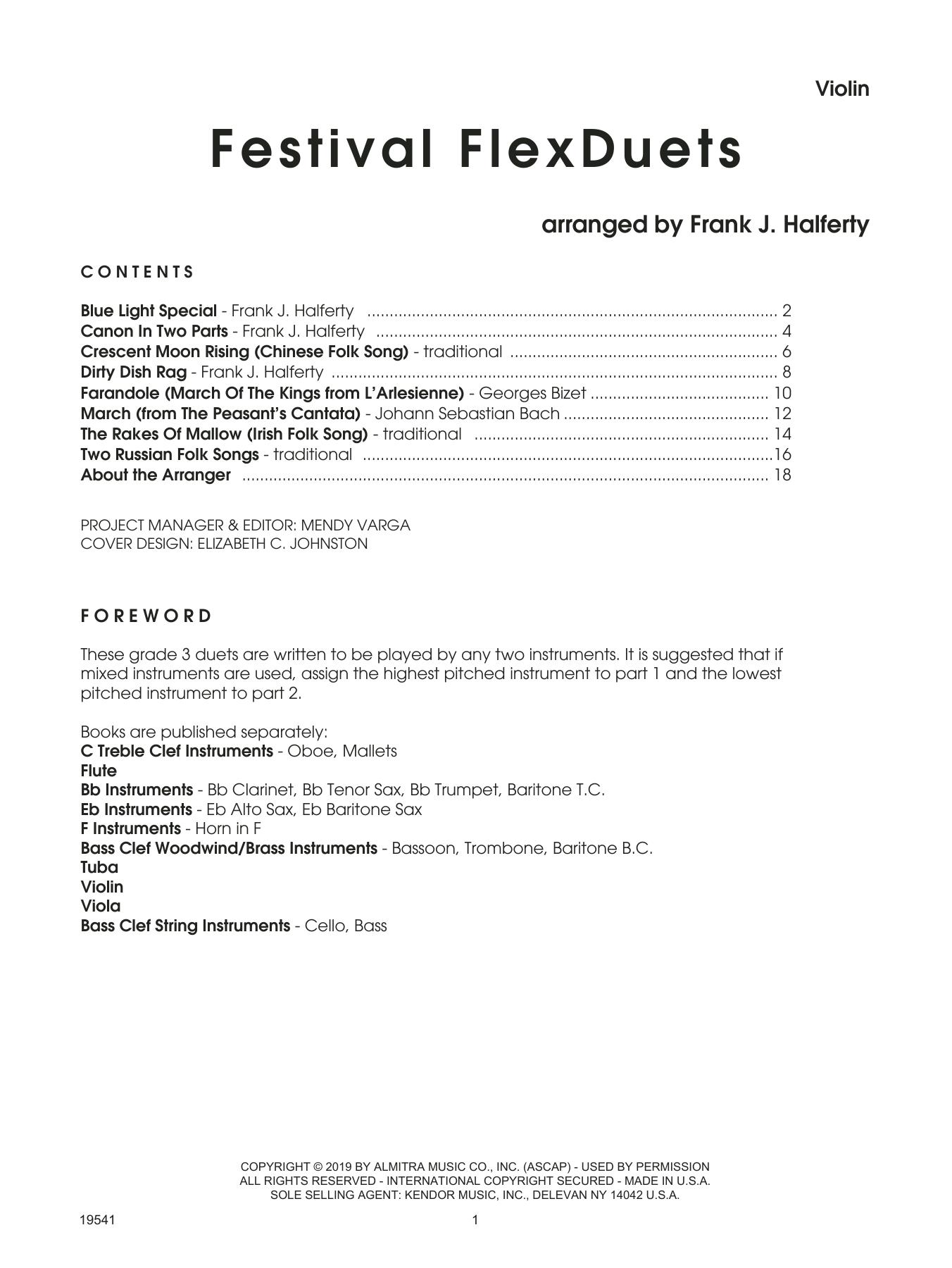 Festival FlexDuets - Violin Sheet Music