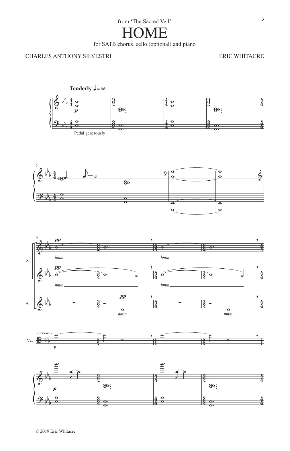 Home (from The Sacred Veil) Sheet Music