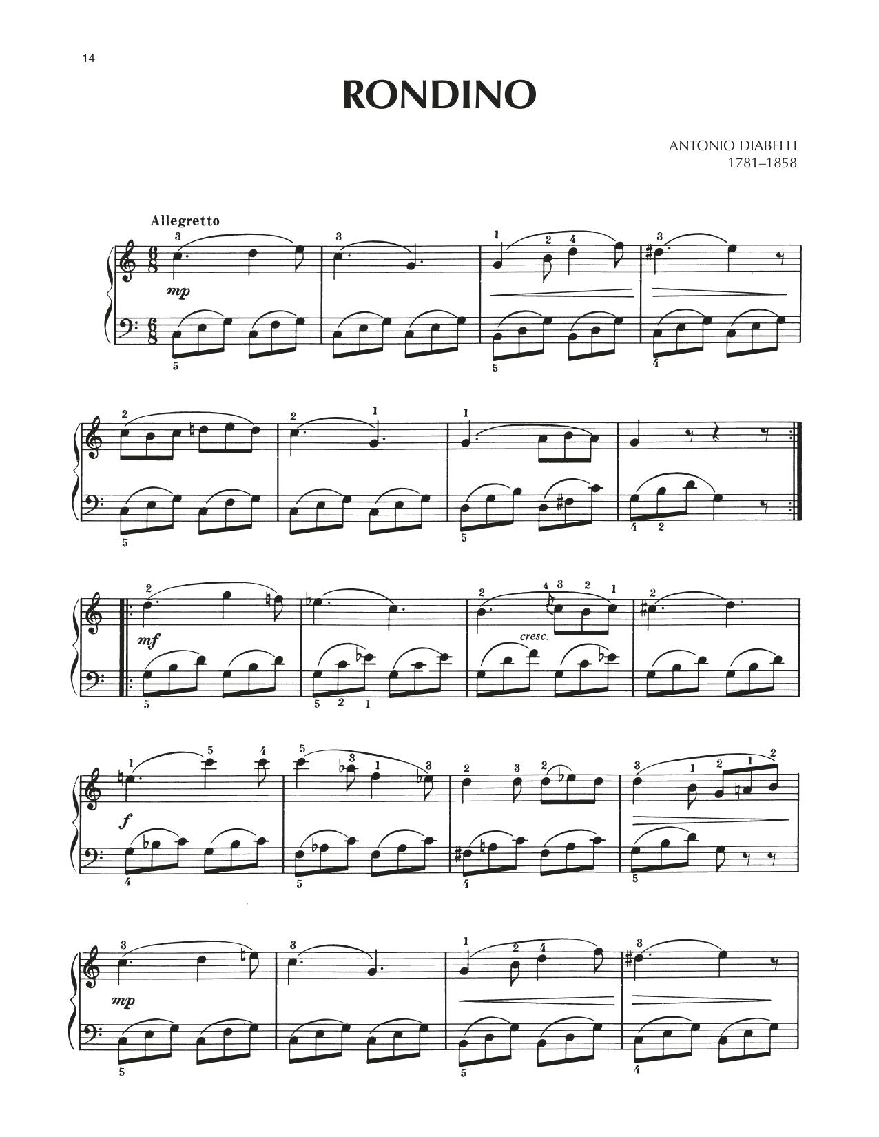 Rondino (Piano Solo)