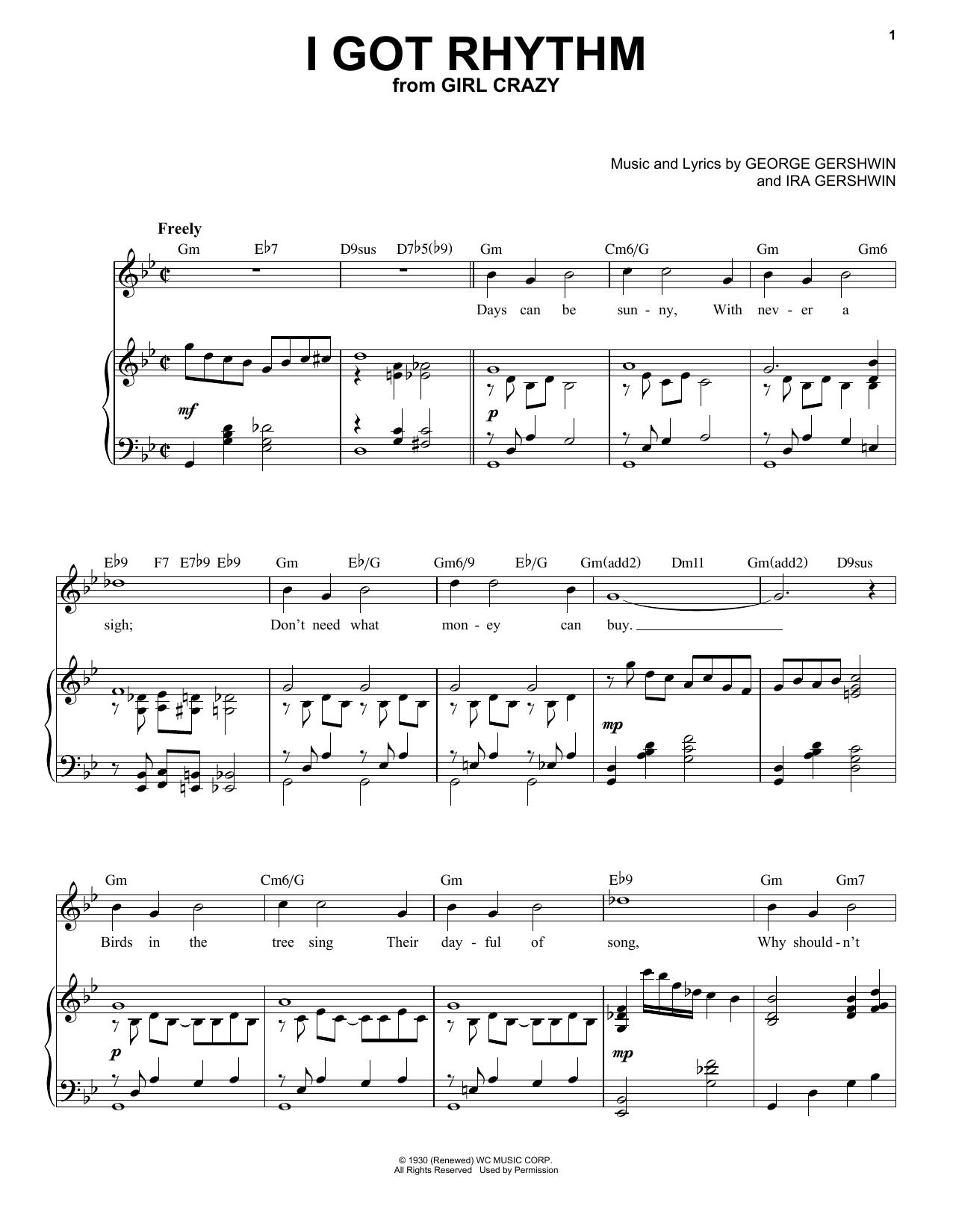 I Got Rhythm [Jazz version] (arr. Brent Edstrom) Sheet Music