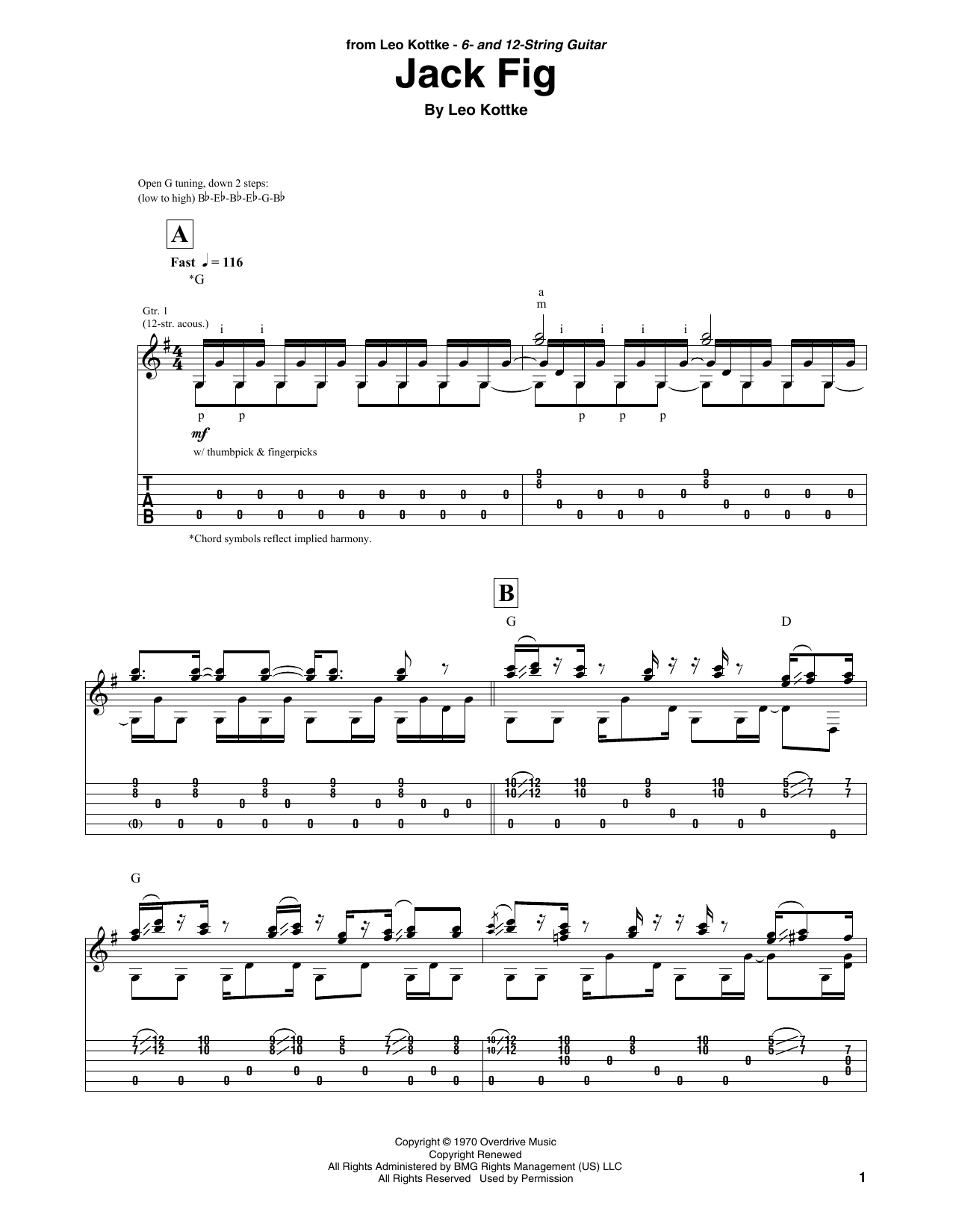 Jack Fig (Solo Guitar Tab)
