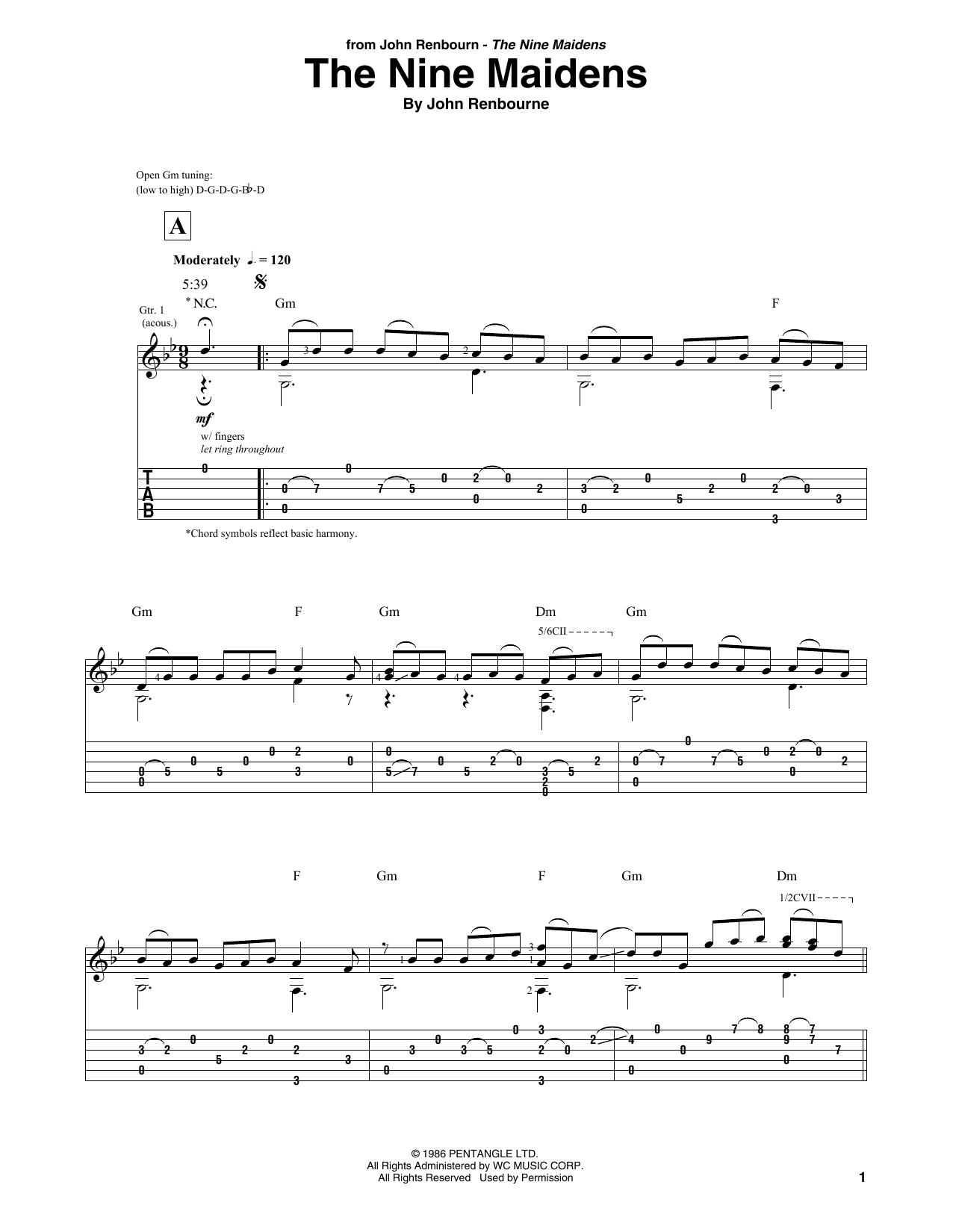 The Nine Maidens Sheet Music