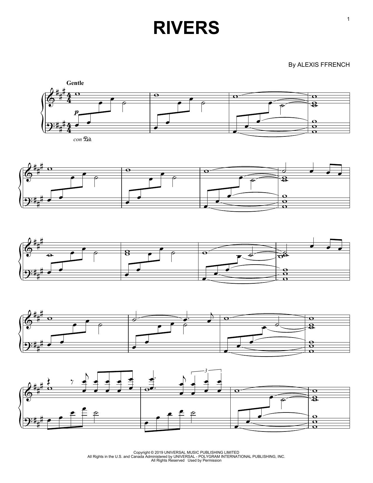 Rivers (Piano Solo)