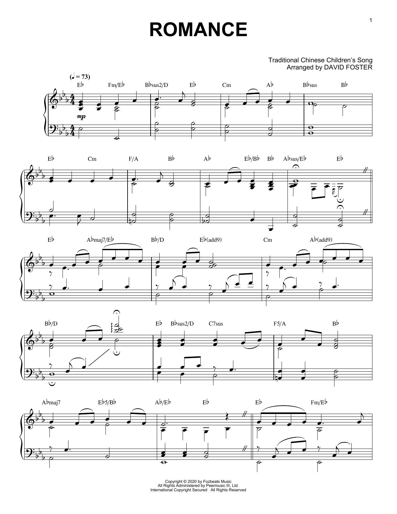Romance (Piano Solo)