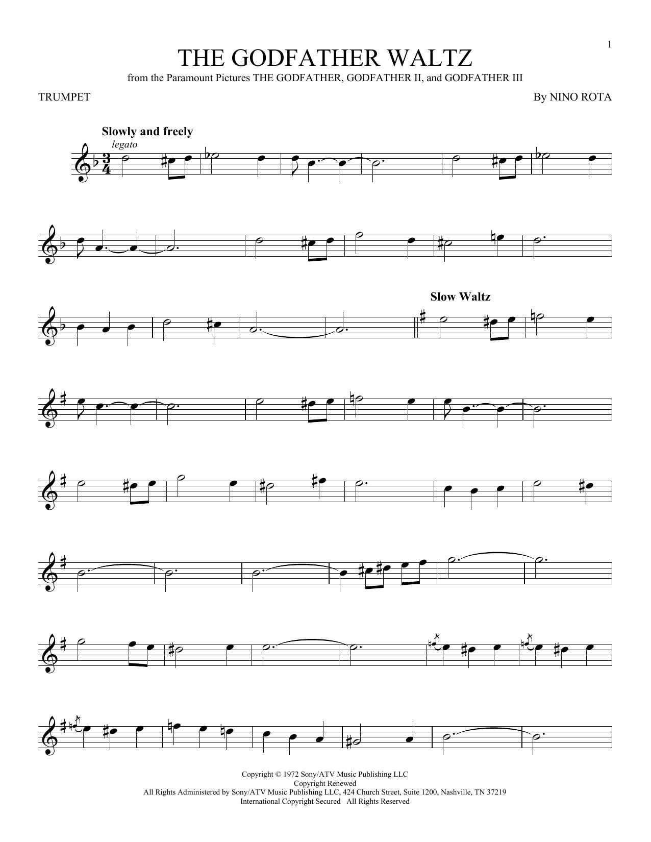 The Godfather Waltz (Trumpet Solo)
