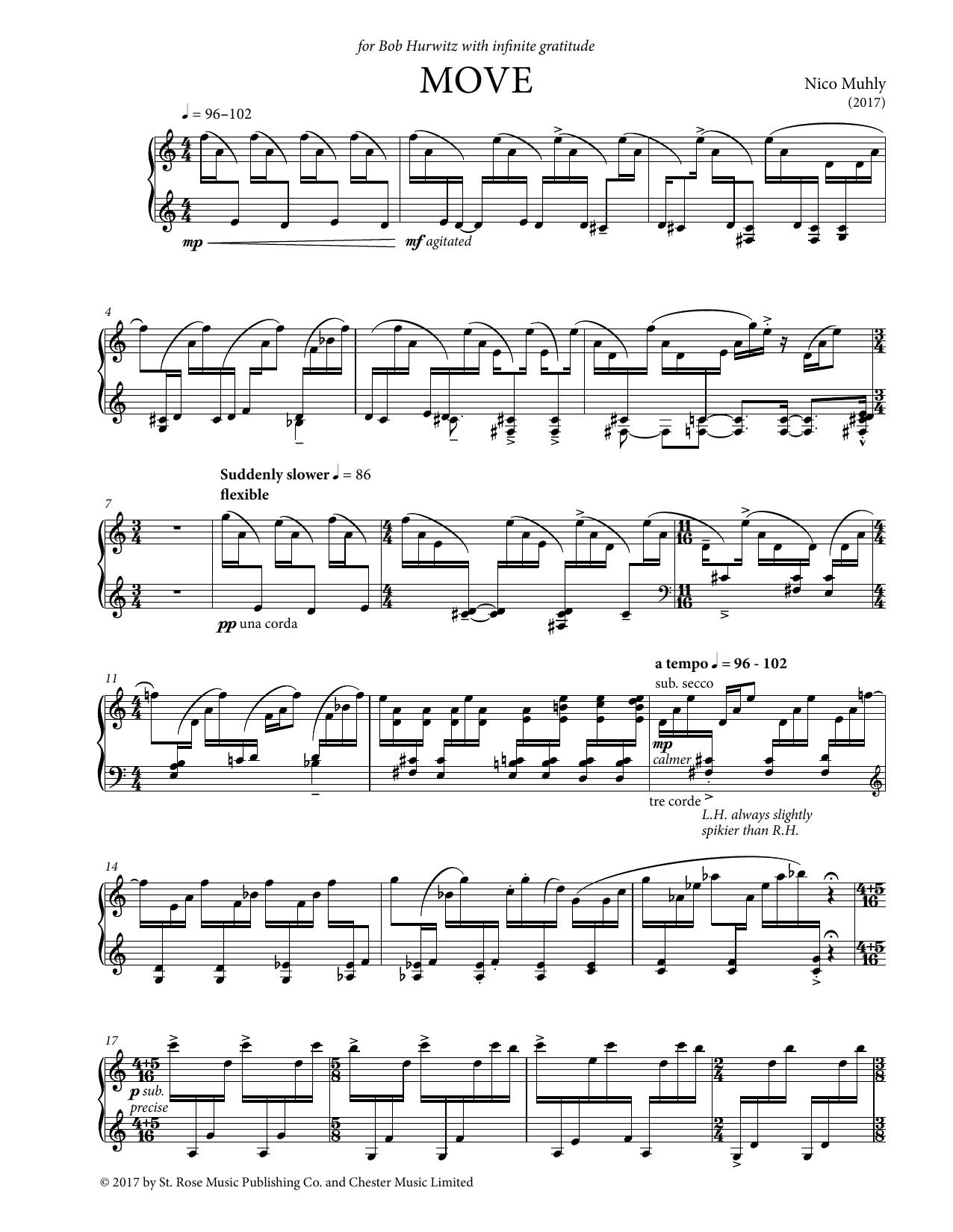 Move (Piano Solo)