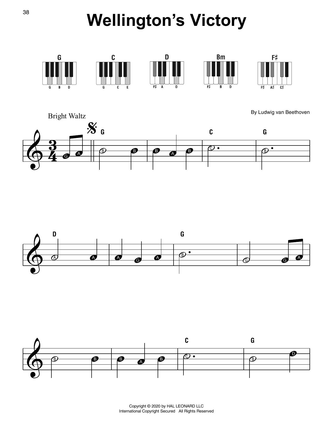 Wellington's Victory (Super Easy Piano)