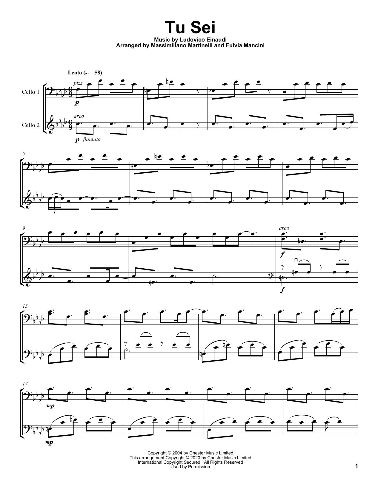 Tu Sei (Cello Duet)