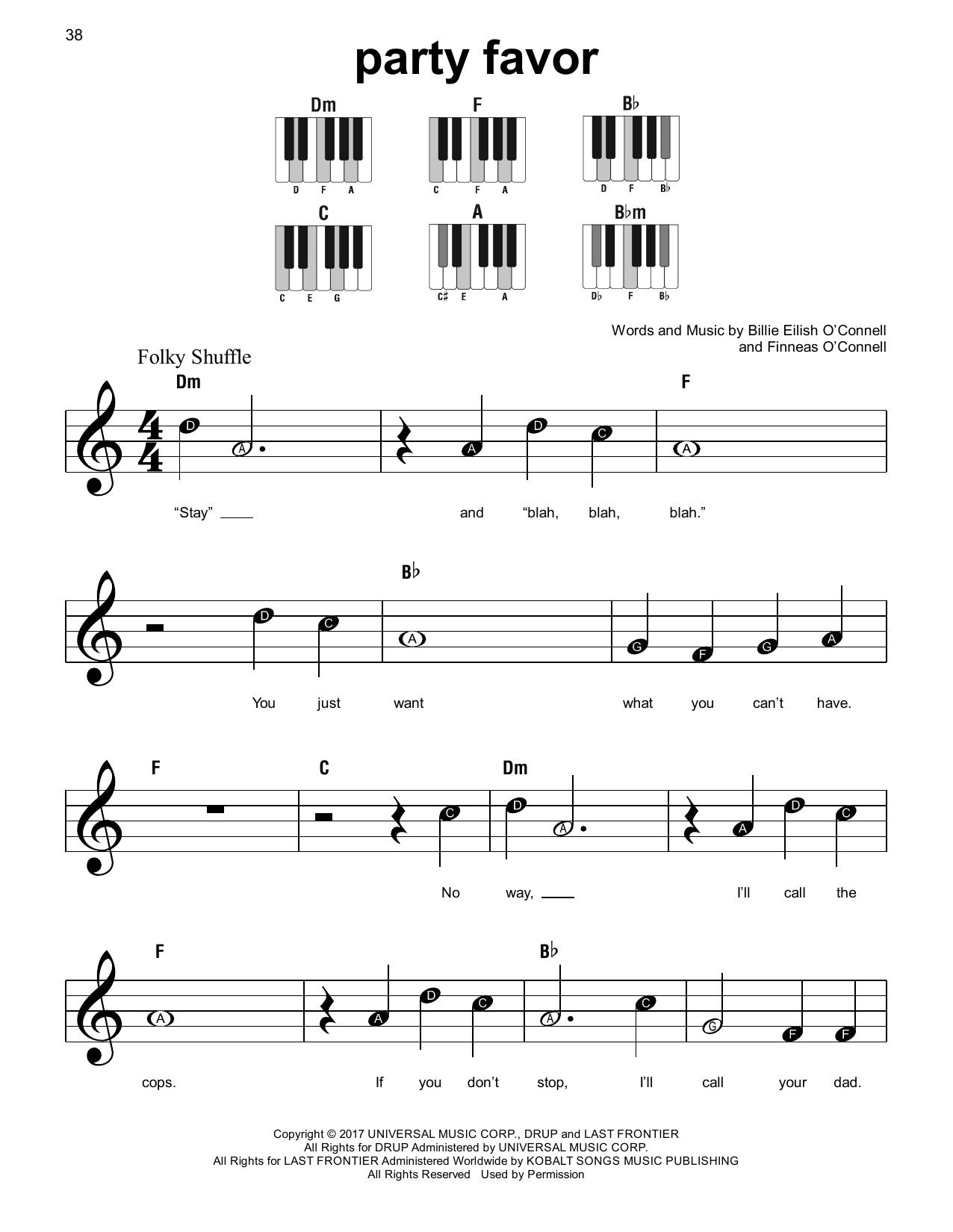 party favor (Super Easy Piano)