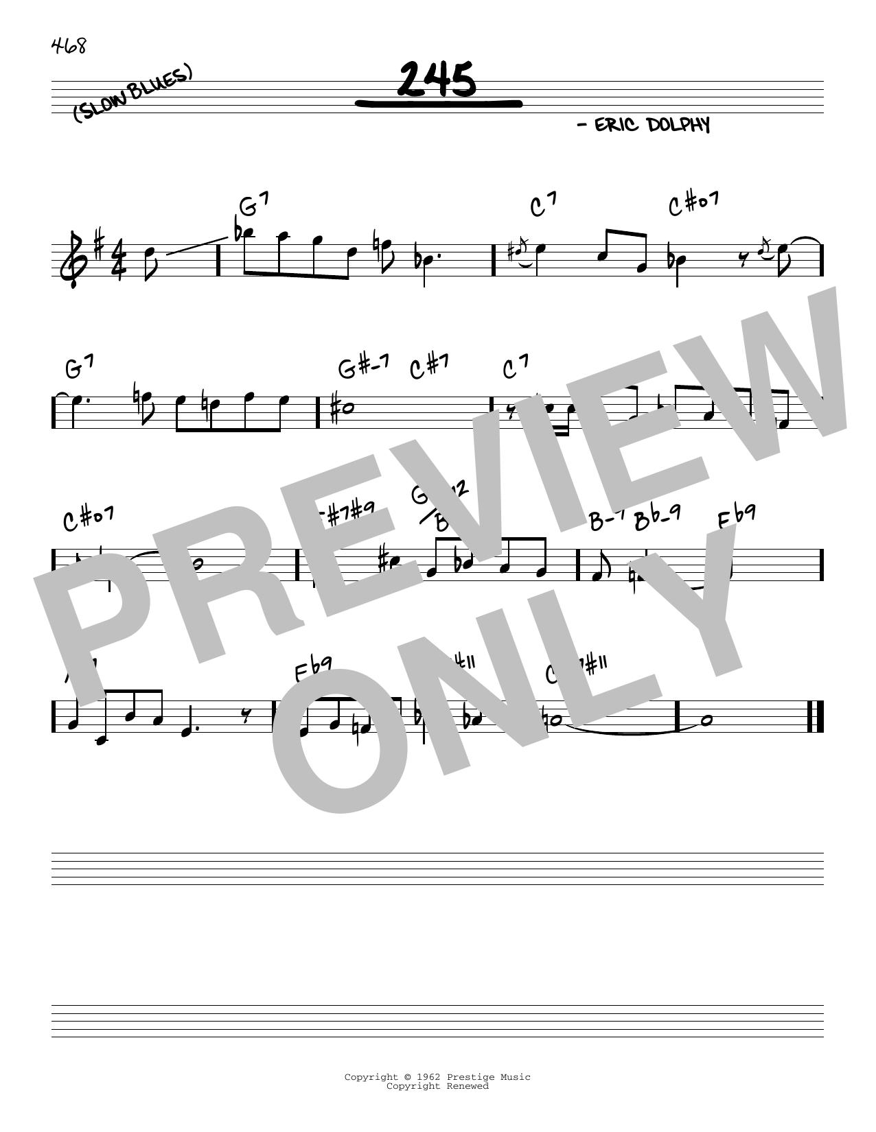 245 Sheet Music