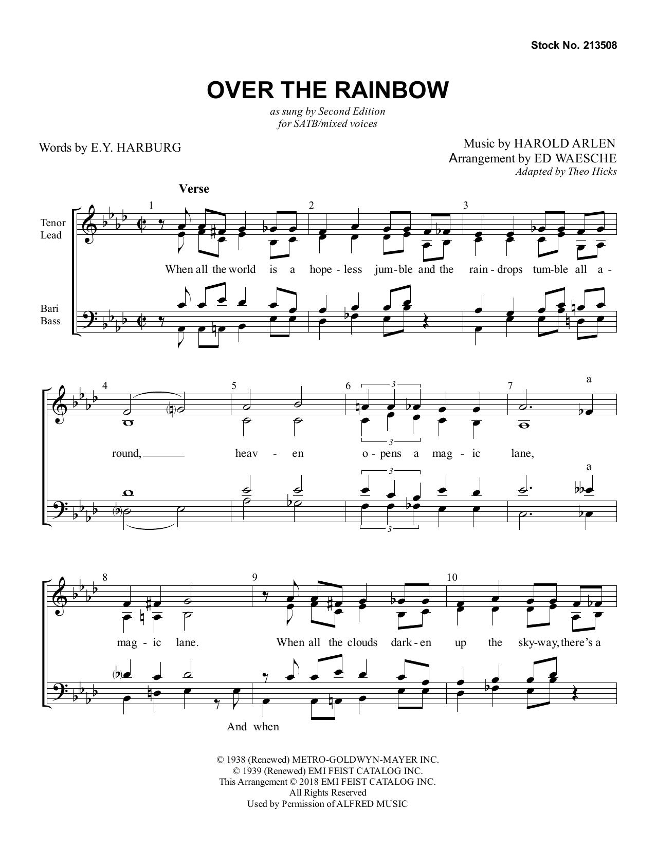 Over The Rainbow (arr. Ed Waesche) Digitale Noten