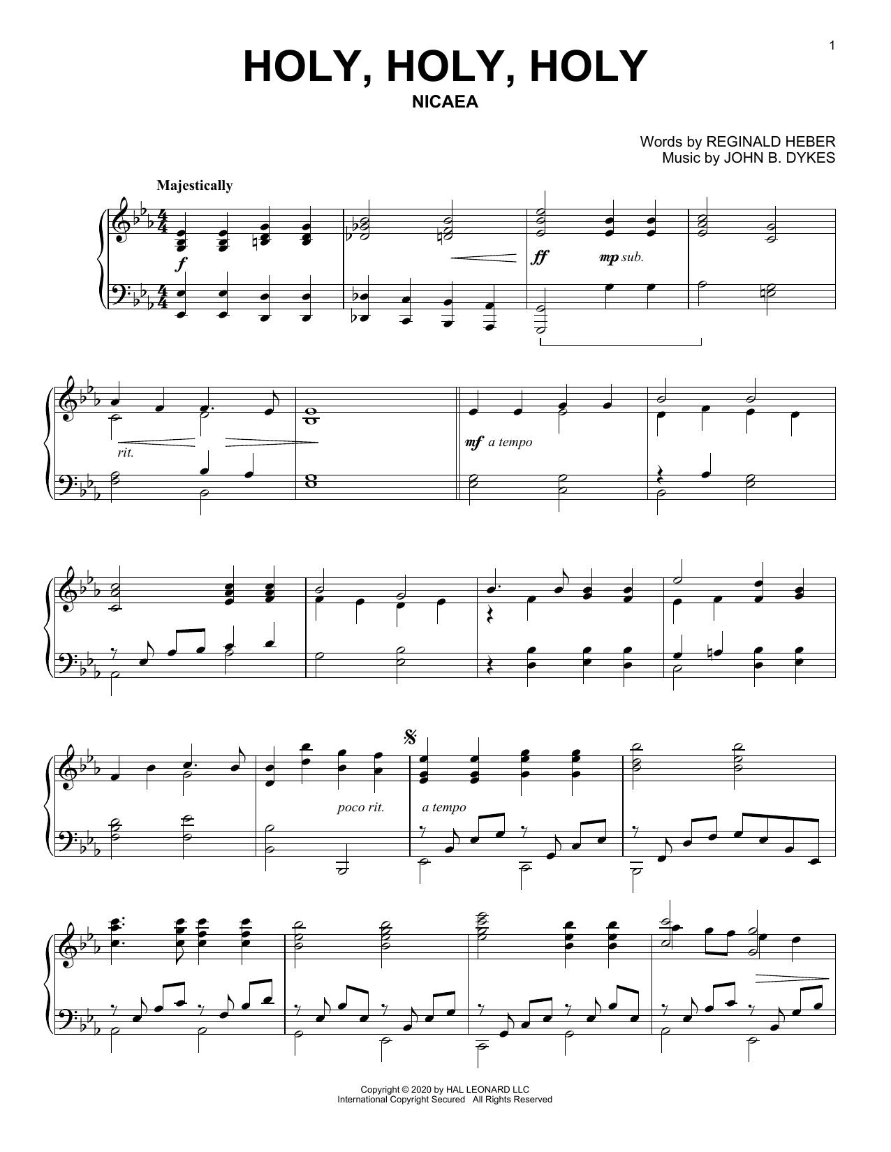Holy, Holy, Holy (Piano Solo)