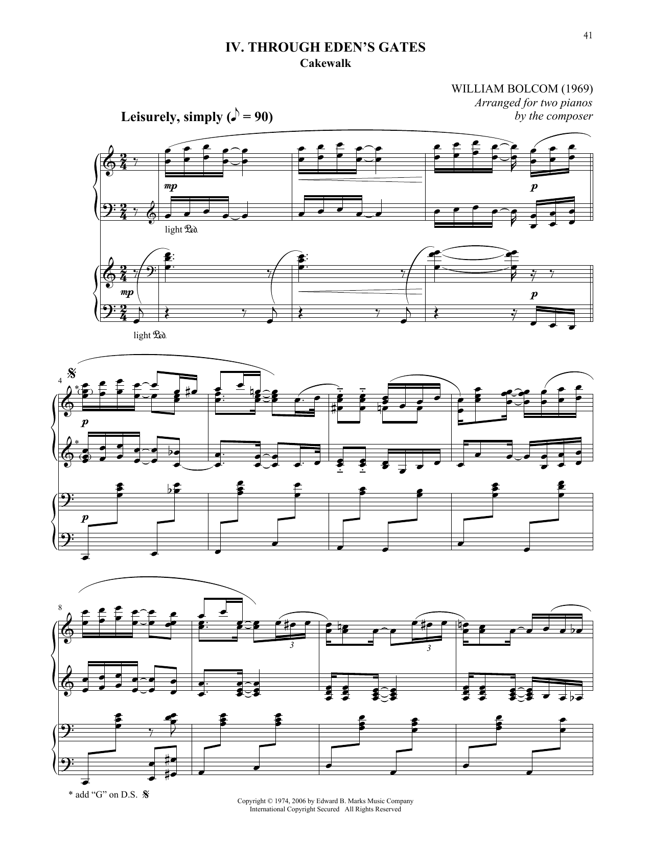 Through Eden's Gates Sheet Music