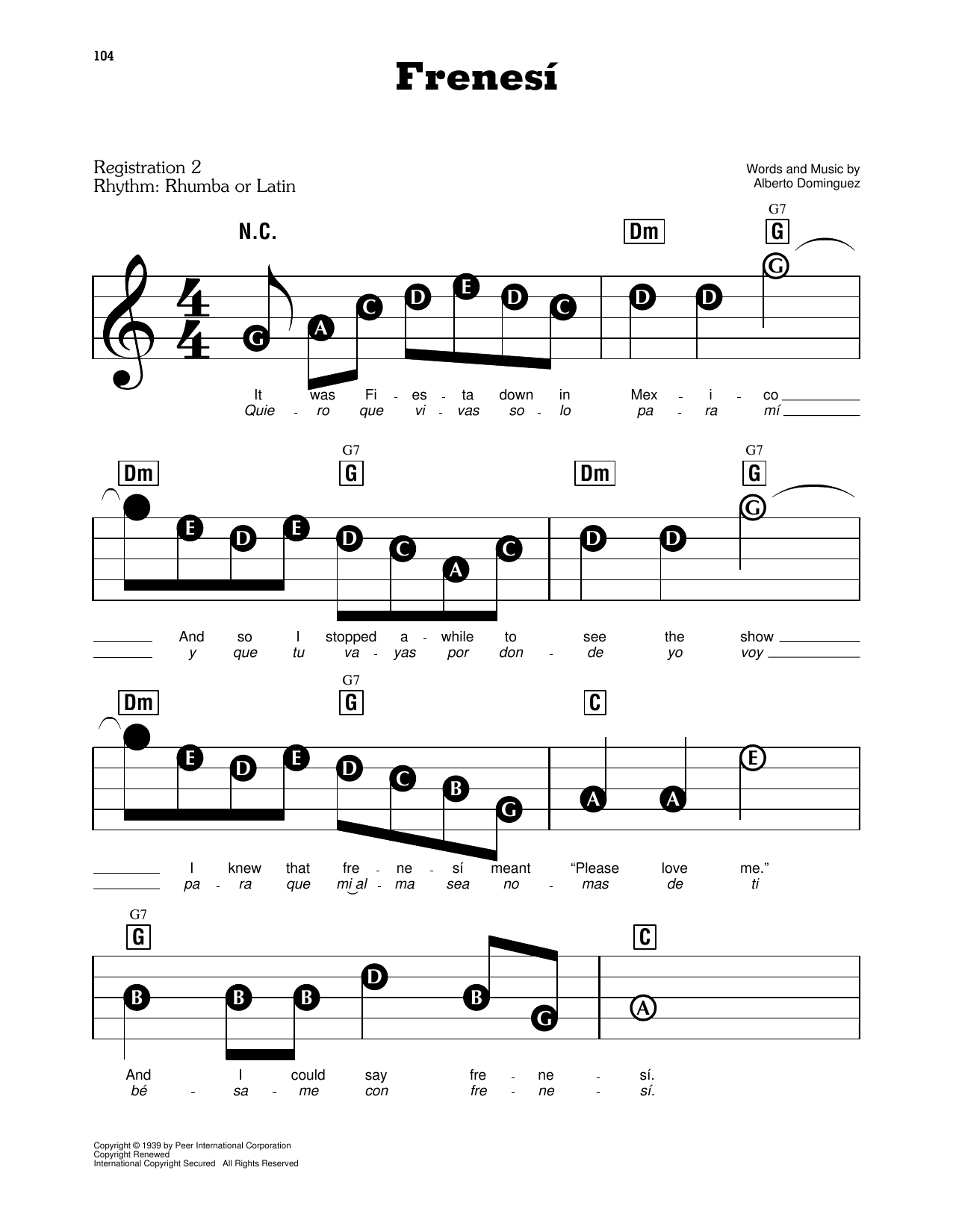 Frenesí (E-Z Play Today)