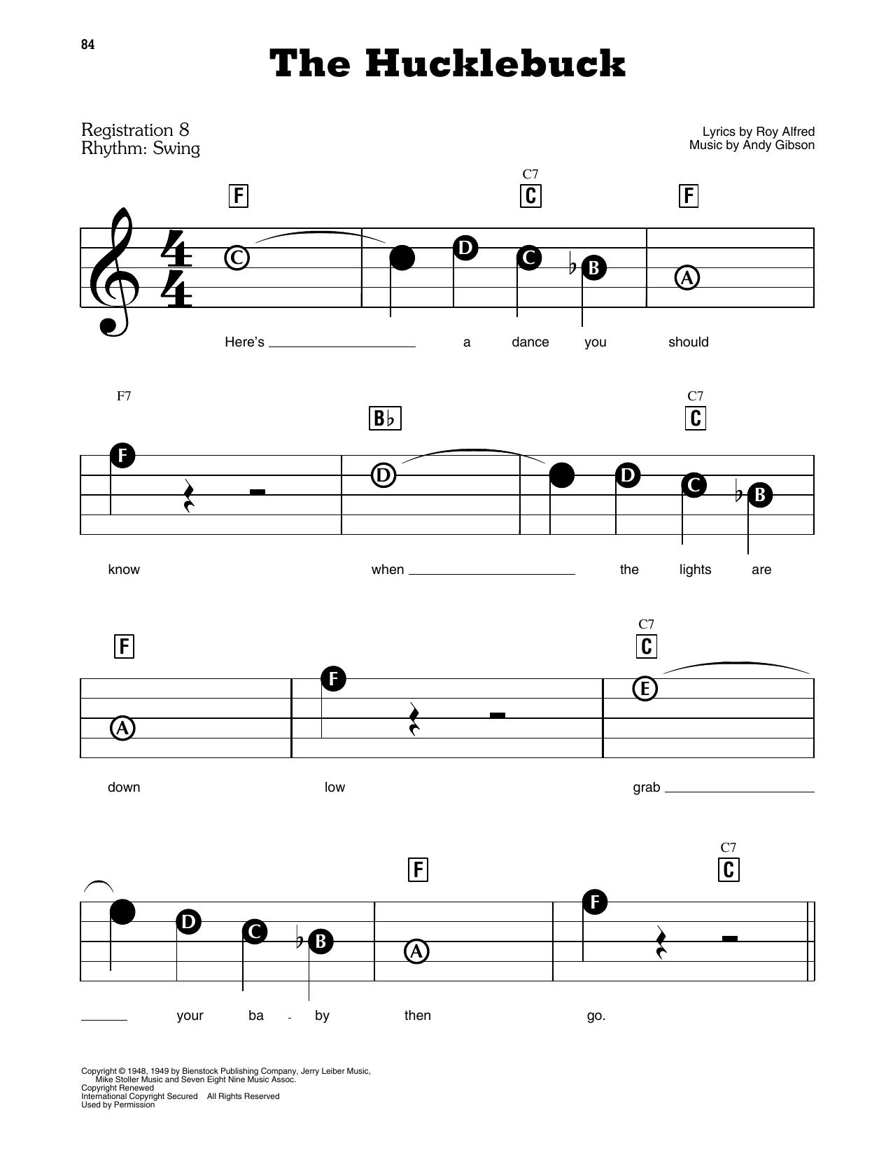 The Hucklebuck Sheet Music