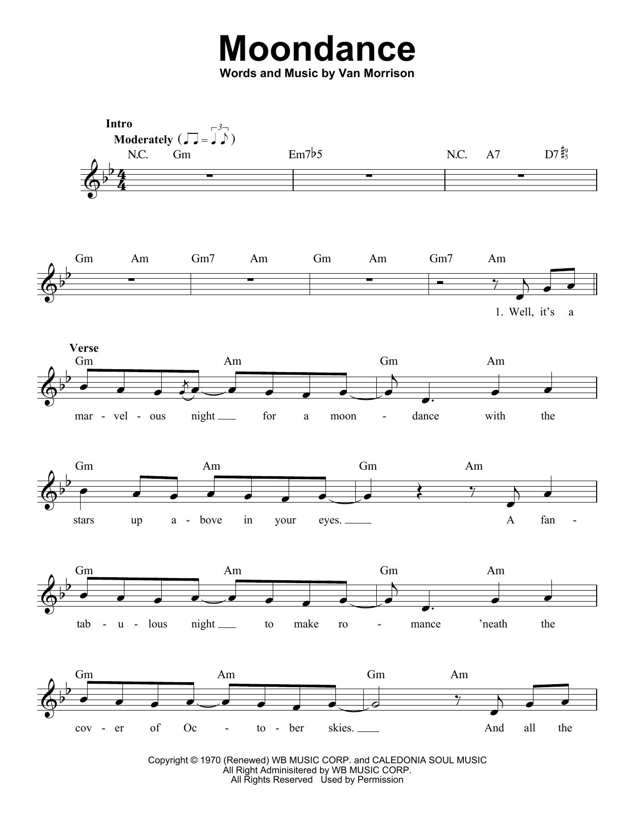 Moondance (Pro Vocal)