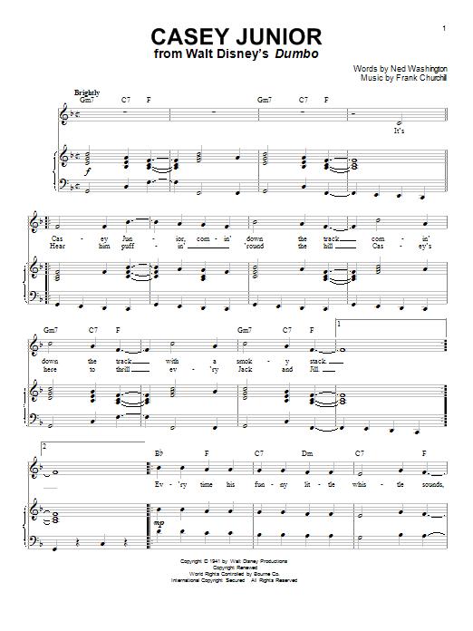 Casey Junior (Piano & Vocal)