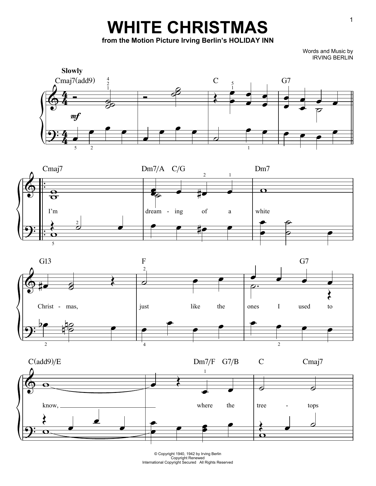 Michael BublT - Christmas Sheet Music by Michael Bublé - Hal Leonard ...