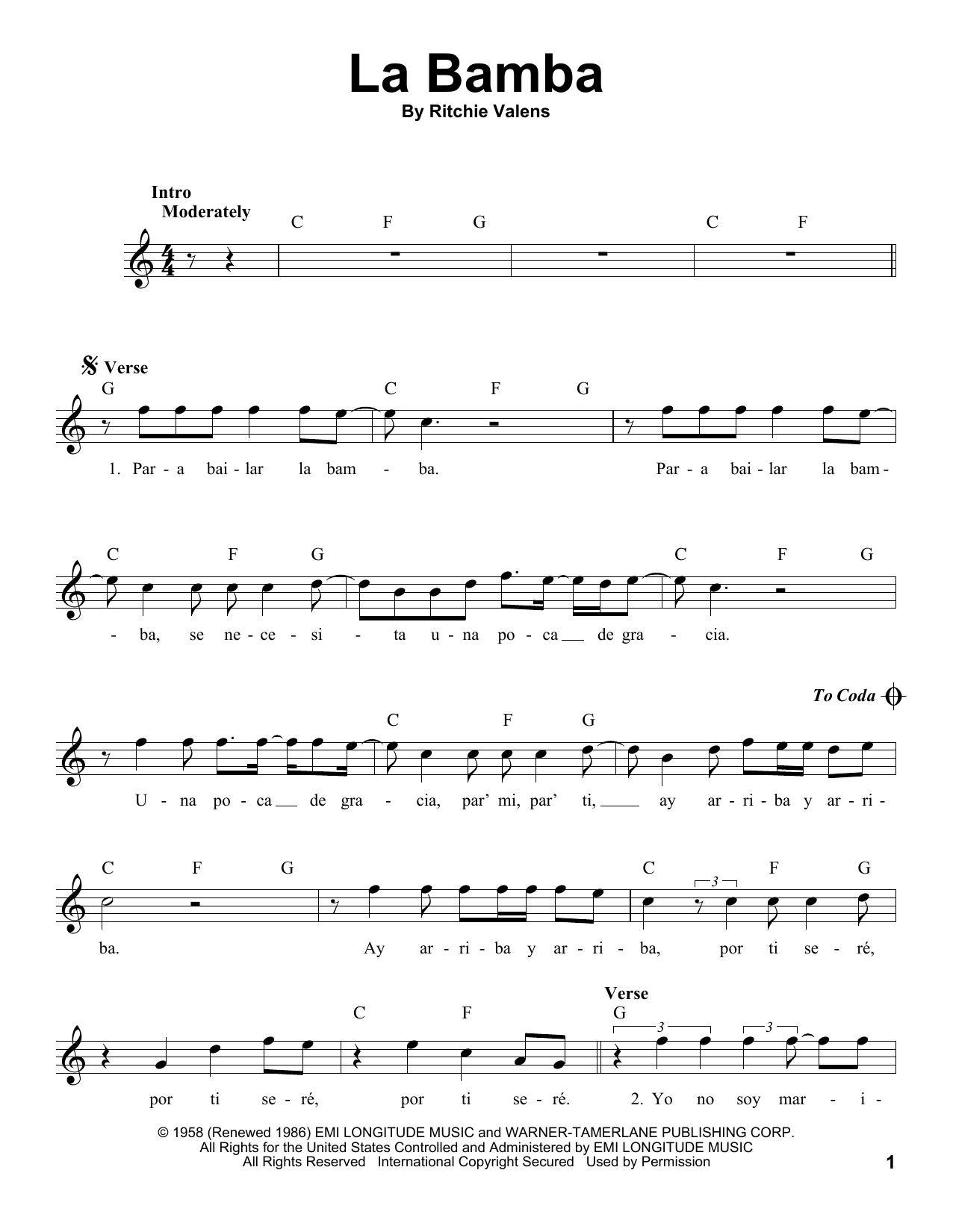 La Bamba (Pro Vocal)