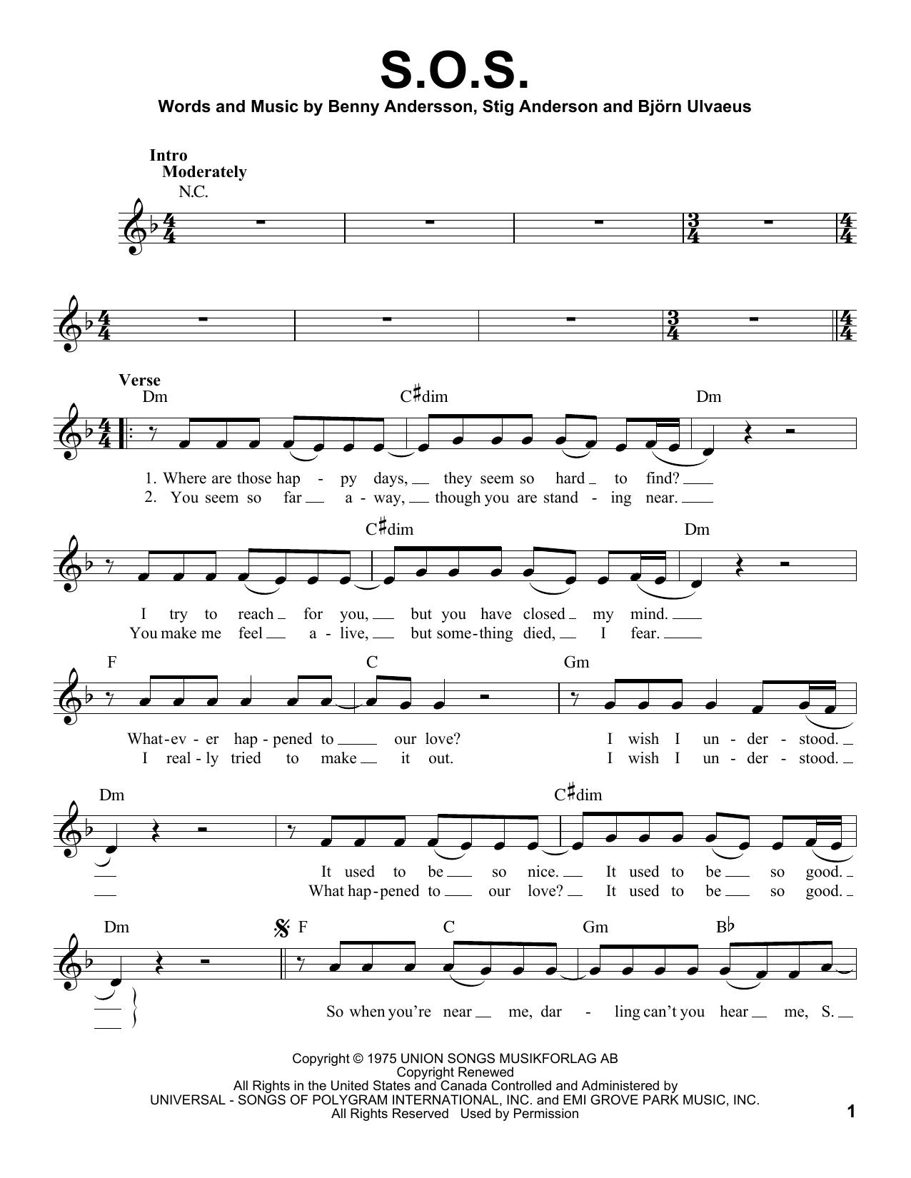 S.O.S. (Pro Vocal)