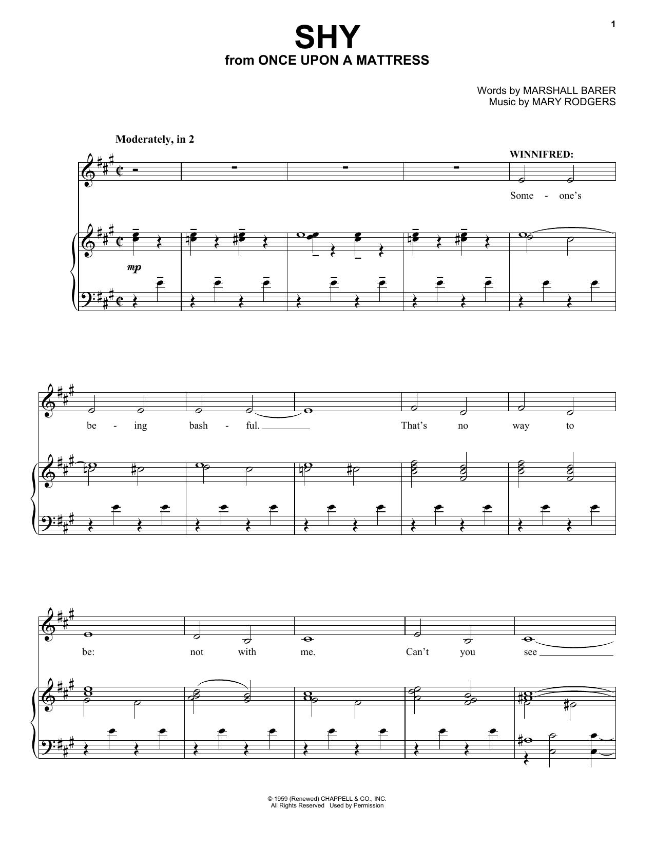 Shy (Piano & Vocal)
