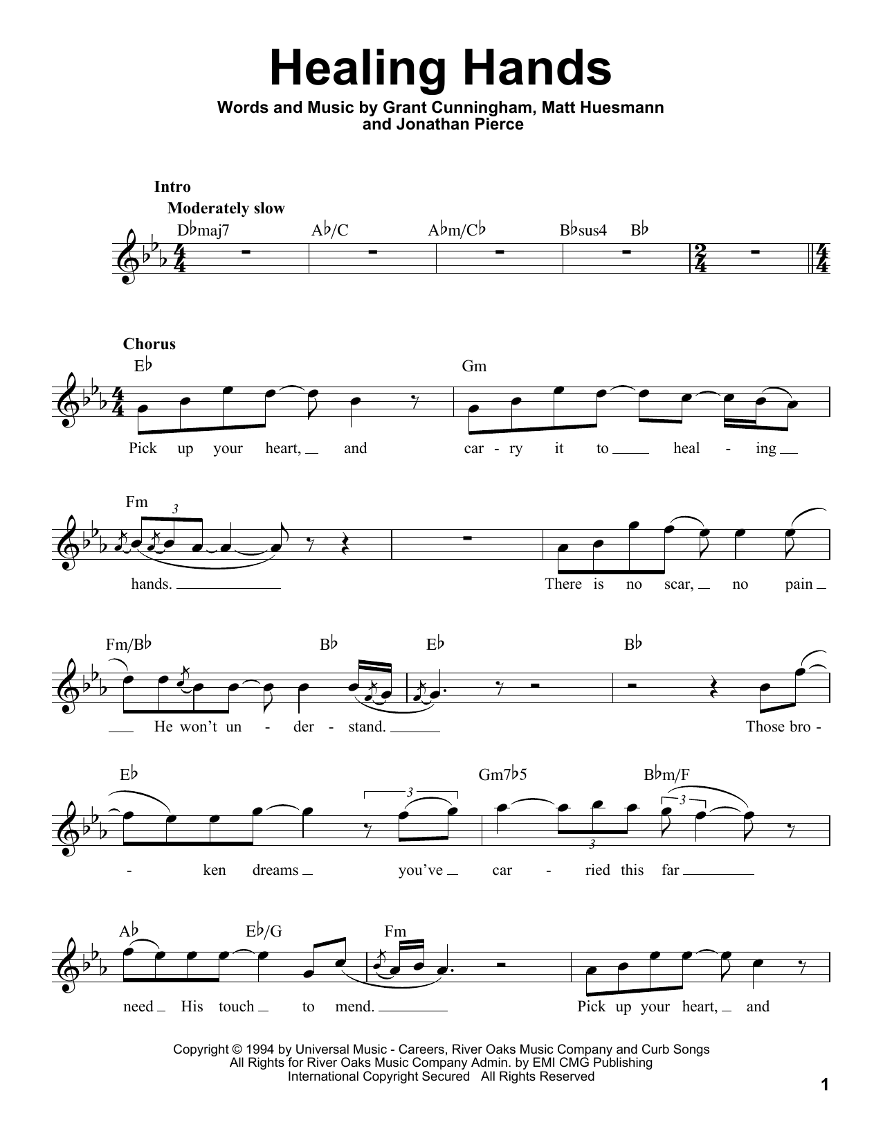 Healing Hands (Pro Vocal)