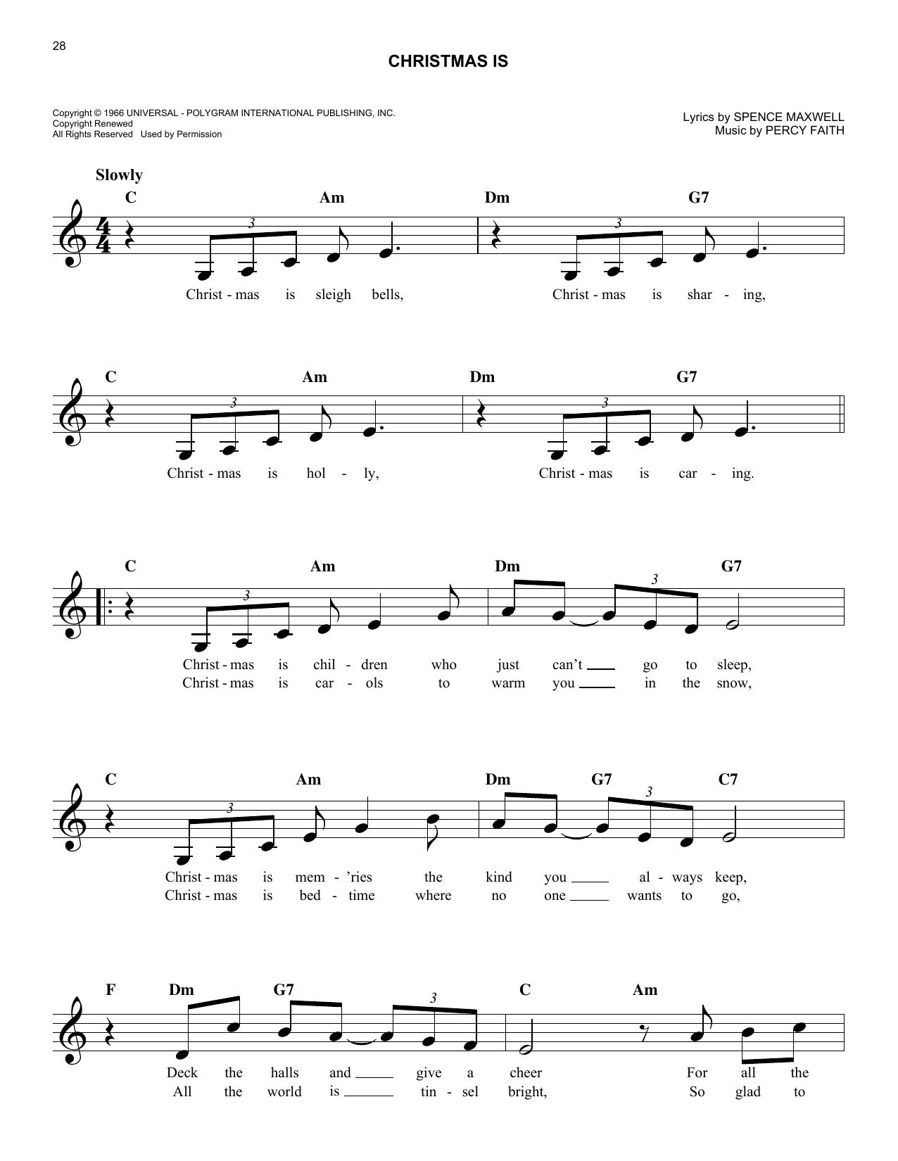 Nuttin\' For Christmas by Sid Tepper, Roy C. Bennett - Hal Leonard ...